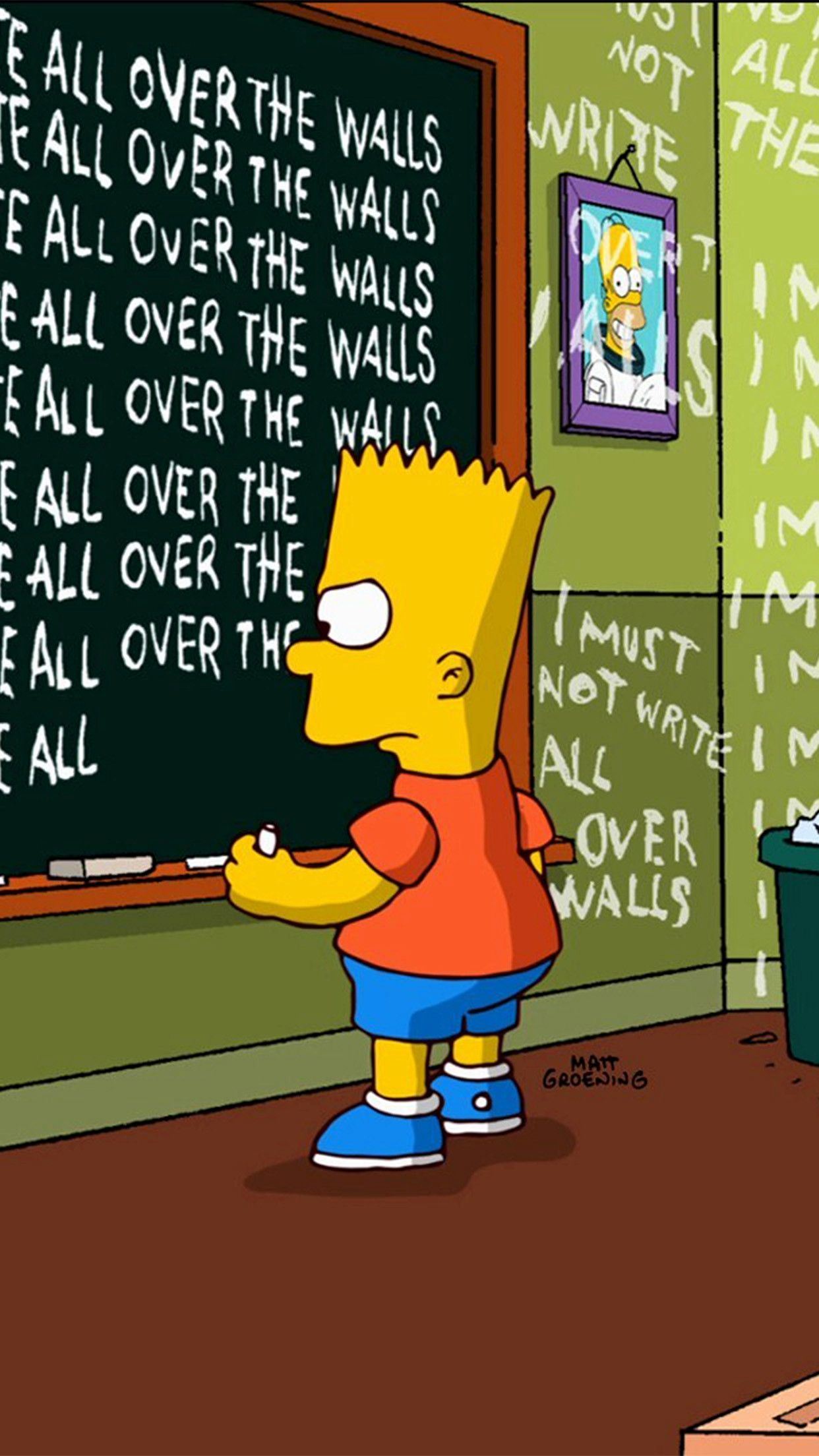 Depressed Bart Simpson Wallpapers Top Free Depressed Bart Simpson Backgrounds Wallpaperaccess
