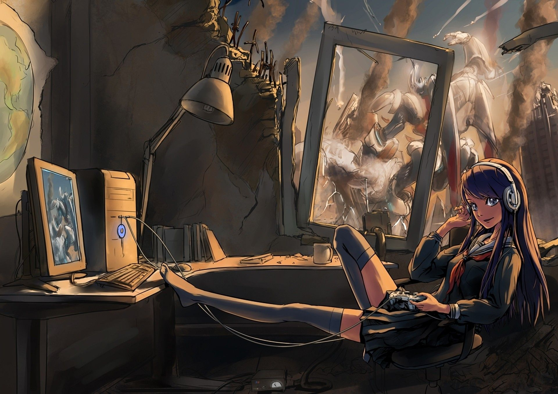 Game Girls Art Wallpapers Top Free Game Girls Art Backgrounds Wallpaperaccess