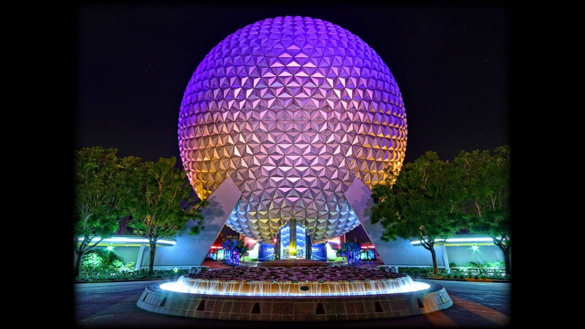 Epcot At Night Wallpapers Top Free Epcot At Night Backgrounds