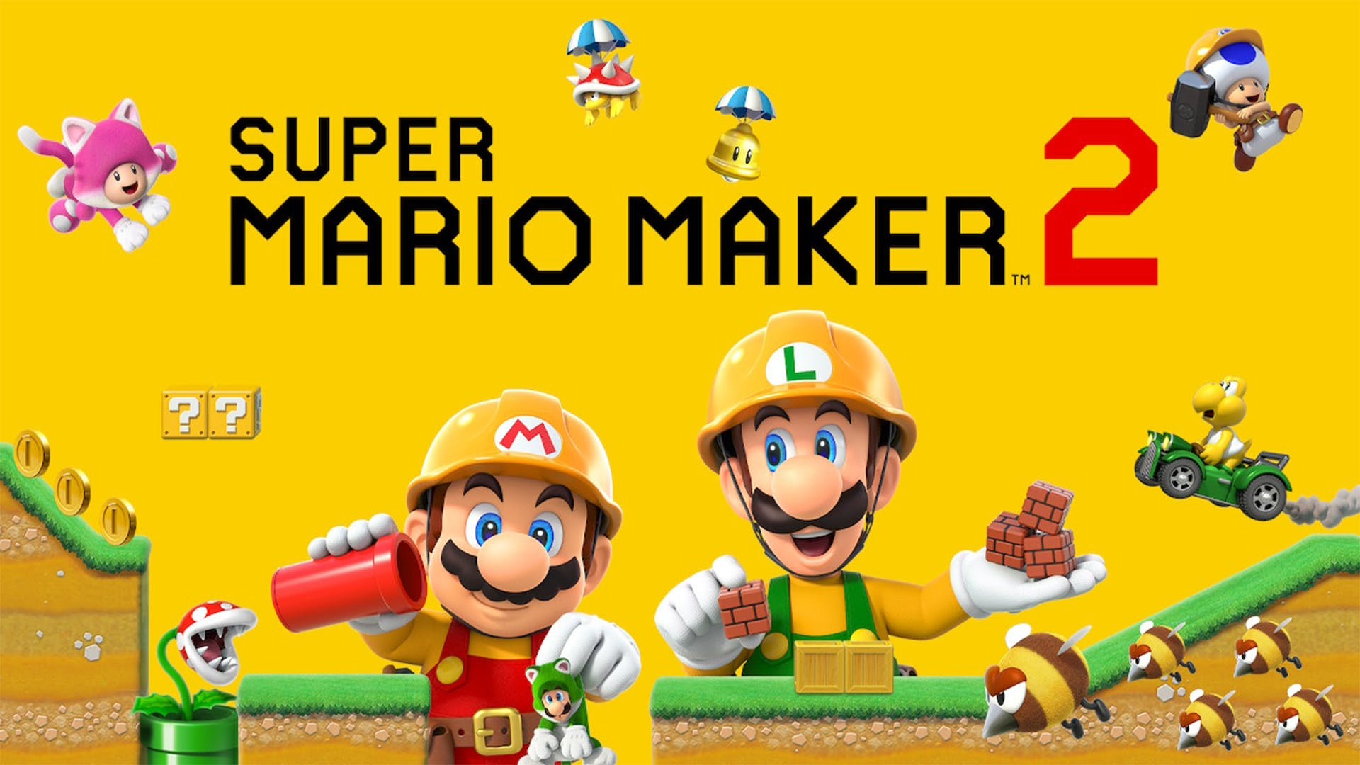 Super Mario Maker 2 Wallpapers Top Free Super Mario Maker 2