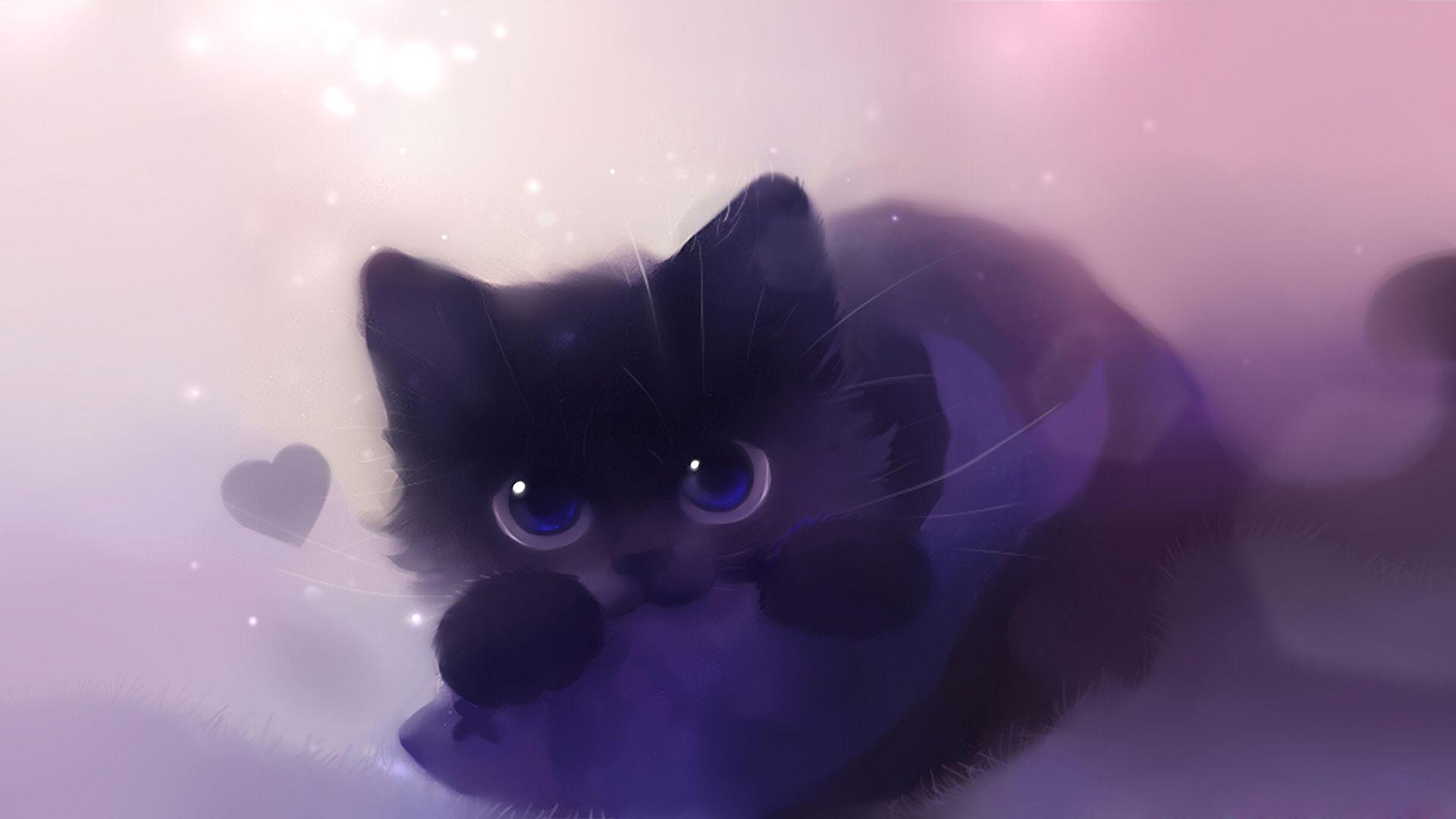 Kawaii Anime Cat Wallpapers Top Free Kawaii Anime Cat
