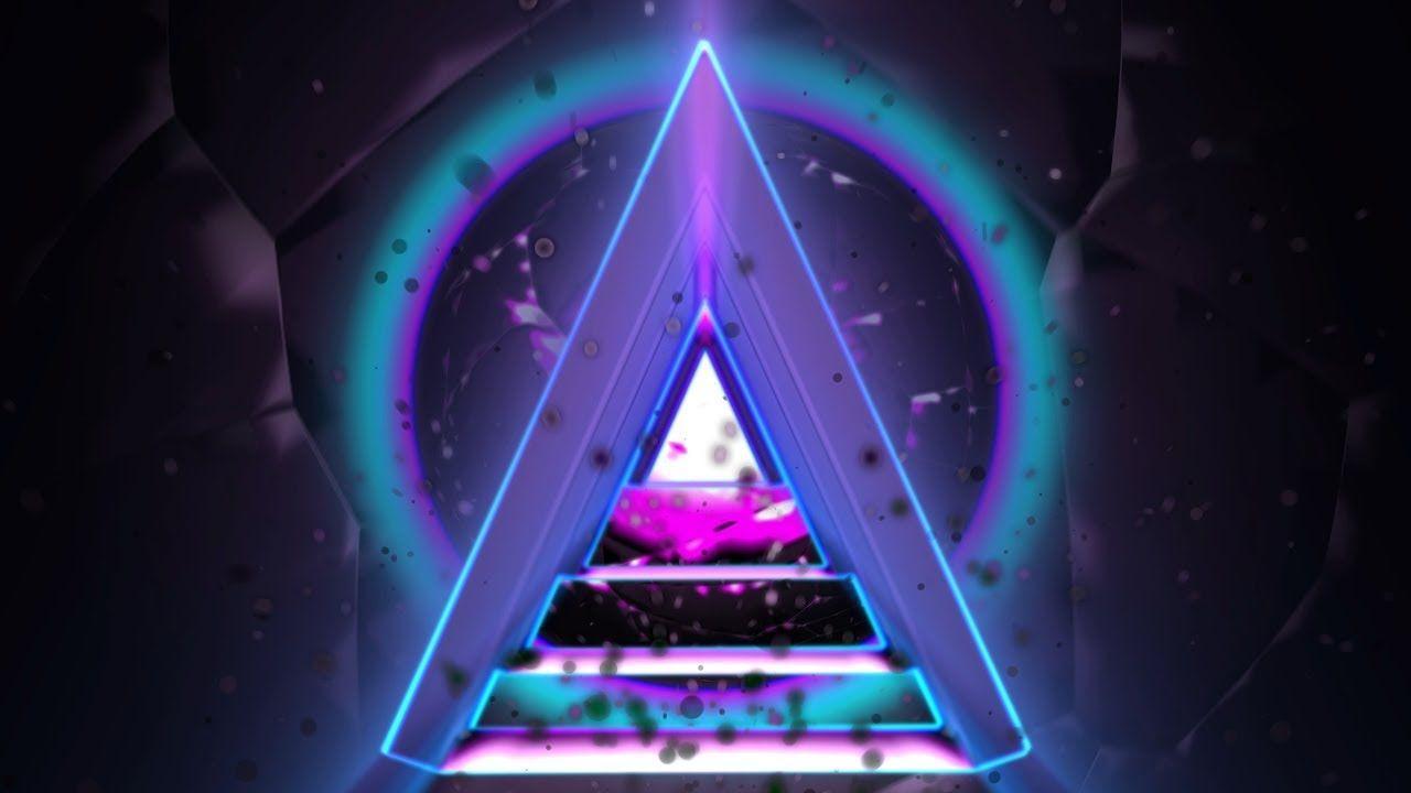 Hình tam giác cổ điển 4K 1280x720 4K △ #AAVFX Nền chuyển động △ #VJLOOP