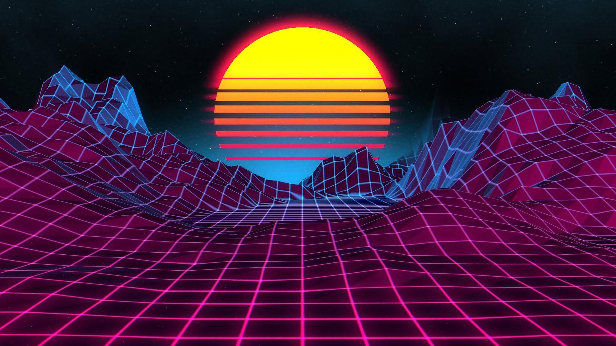 2048x1152 Mặt trời mọc cổ điển