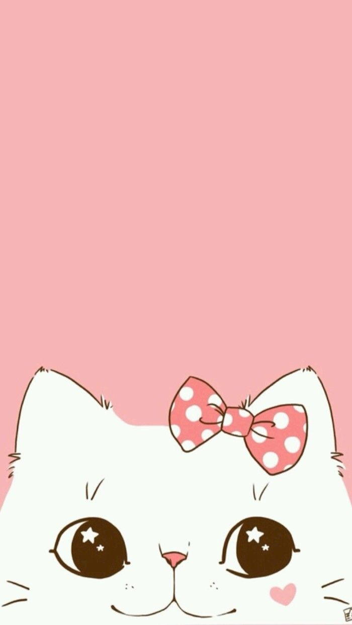 Pink Cat Wallpapers Top Free Pink Cat Backgrounds Wallpaperaccess