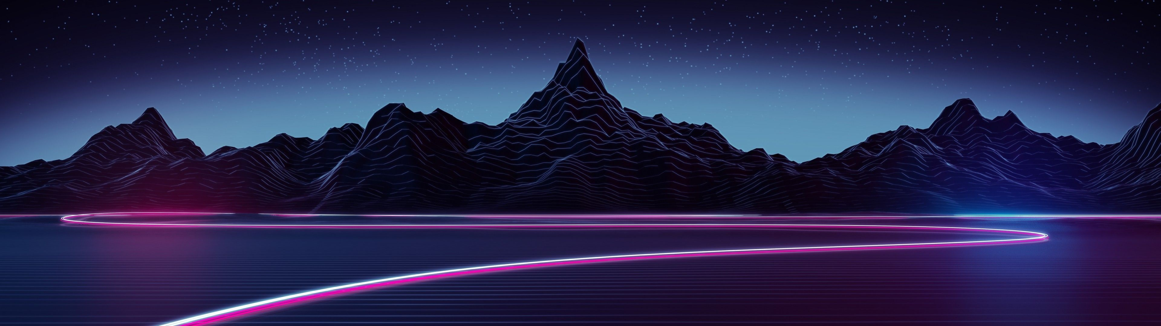 Neon 3840x1080 Wallpapers Top Free Neon 3840x1080 Backgrounds Wallpaperaccess