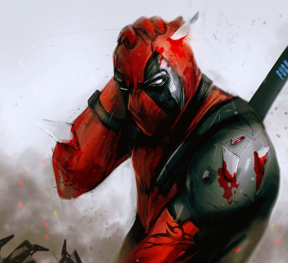 Deviantart Deadpool Wallpapers Top Free Deviantart Deadpool