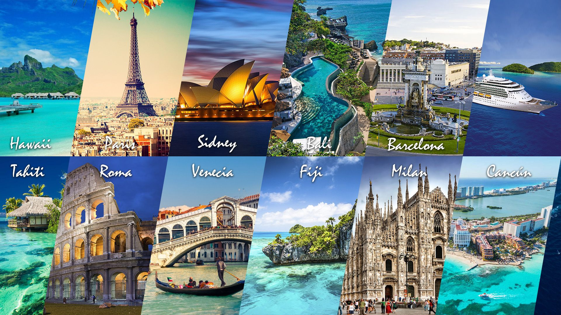 Travel Collage Wallpapers Top Free Travel Collage Backgrounds Wallpaperaccess