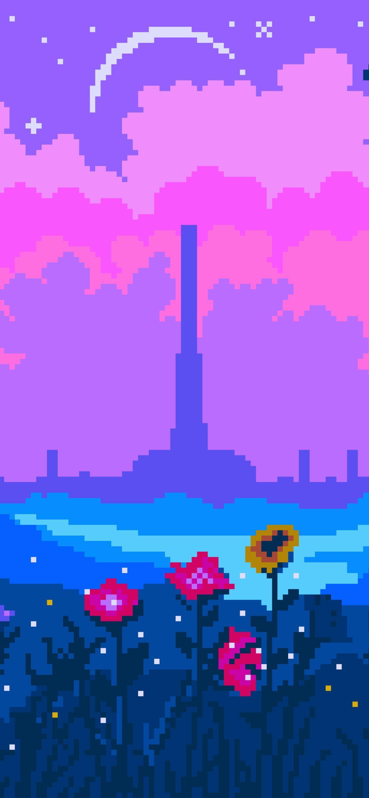 Pixel Art Iphone Wallpapers Top Free Pixel Art Iphone Backgrounds Wallpaperaccess