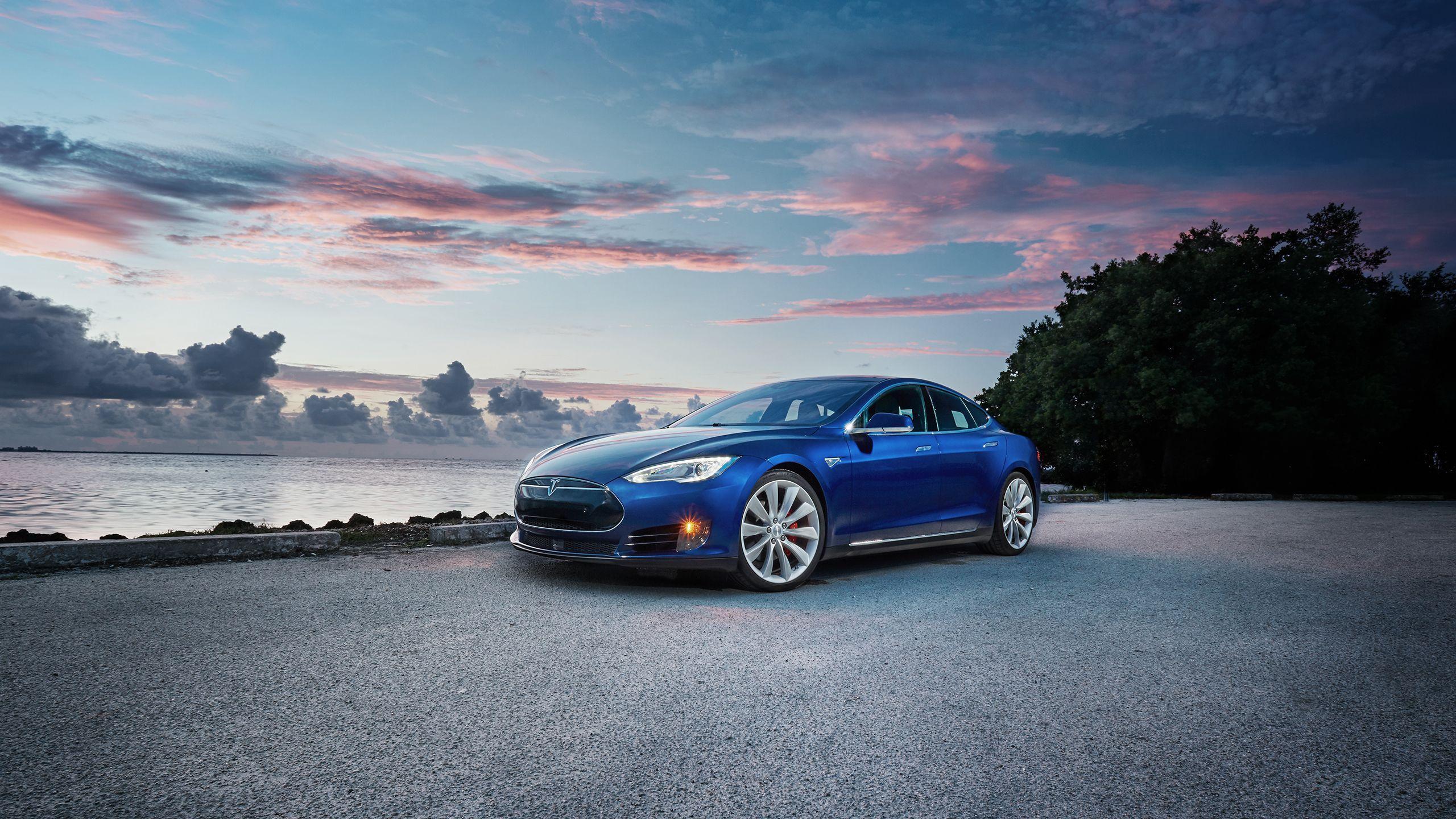 Blue Tesla Model X Wallpapers Top Free Blue Tesla Model X Backgrounds Wallpaperaccess