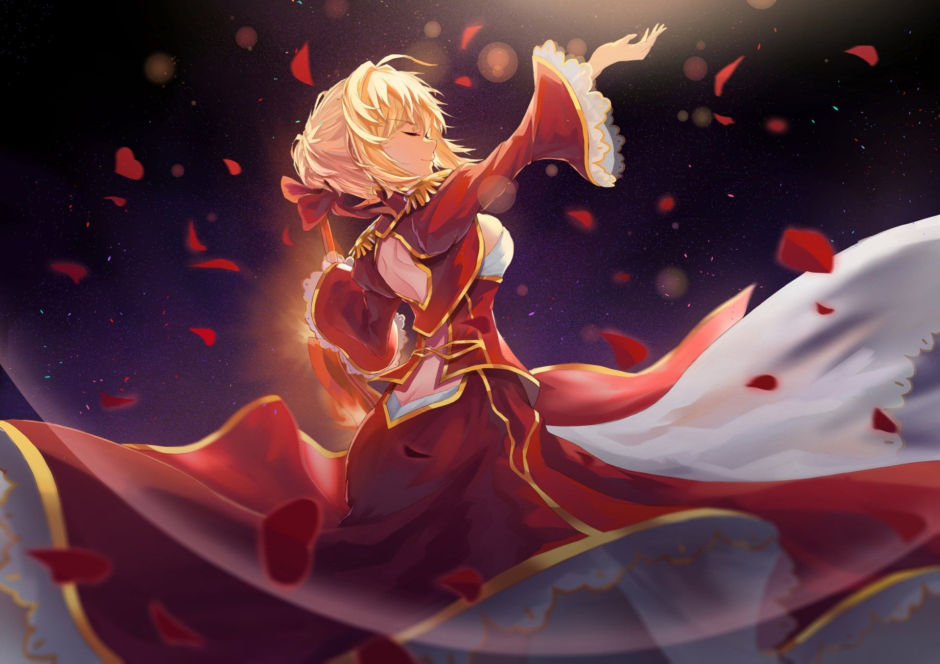 Fate Extra Last Encore Wallpapers Top Free Fate Extra Last Encore Backgrounds Wallpaperaccess