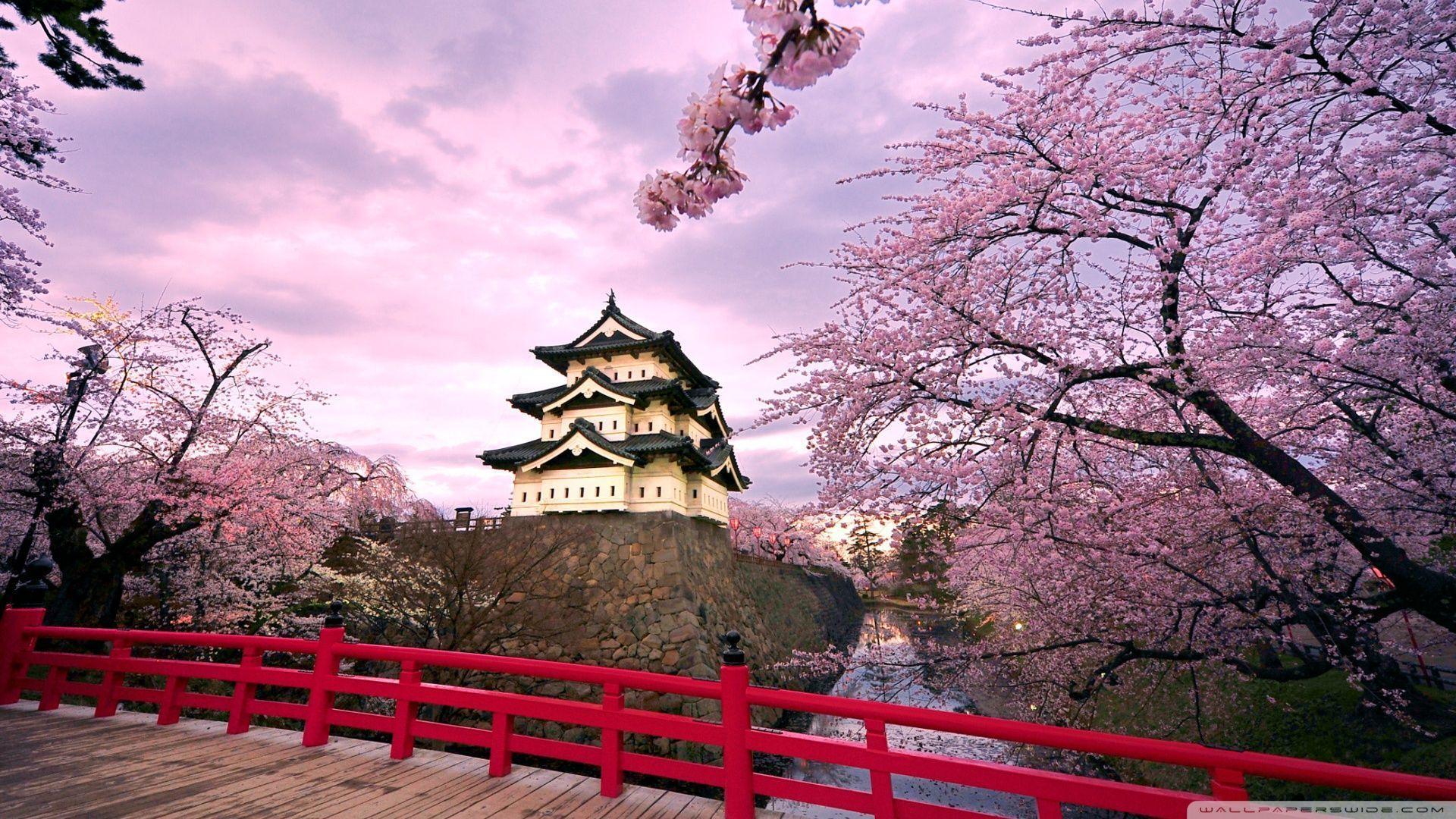 "1920x1200 decoration: Japanese Landscape World Heritage Japan Architecture ..."">"
