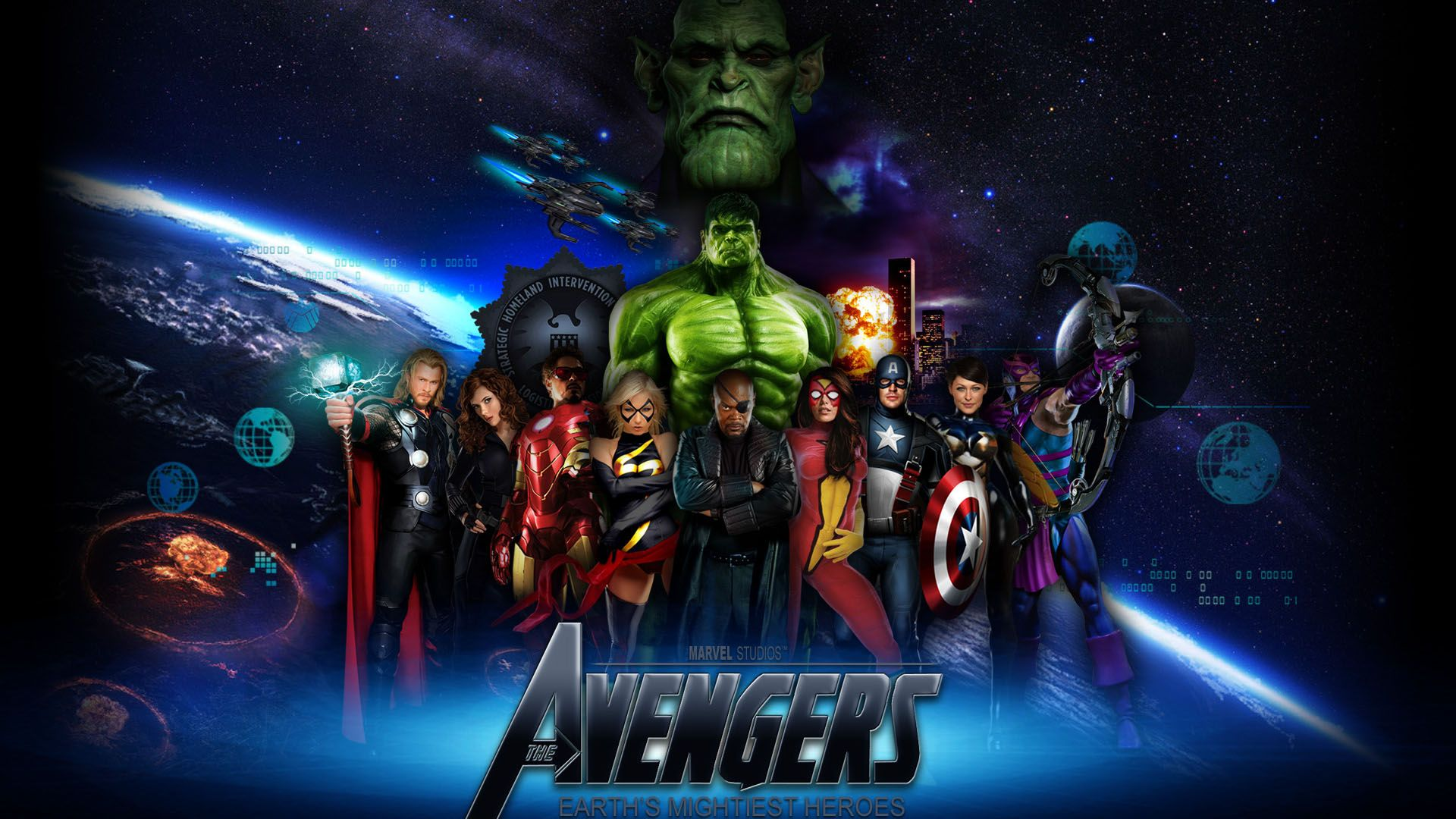 Marvel S Avengers Computer Wallpapers Top Free Marvel S