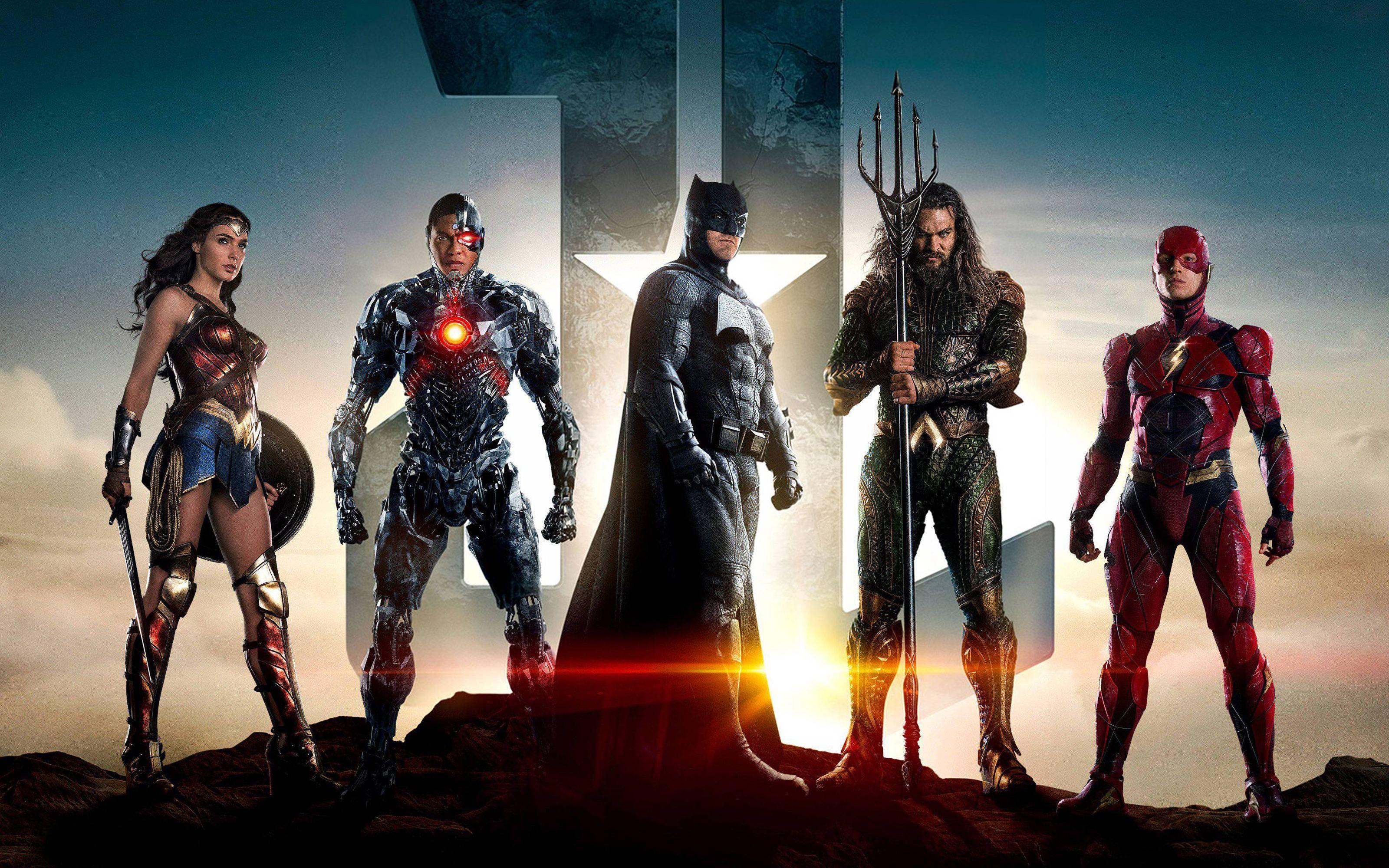 Hình nền 3200x2000 Justice League Superheroes