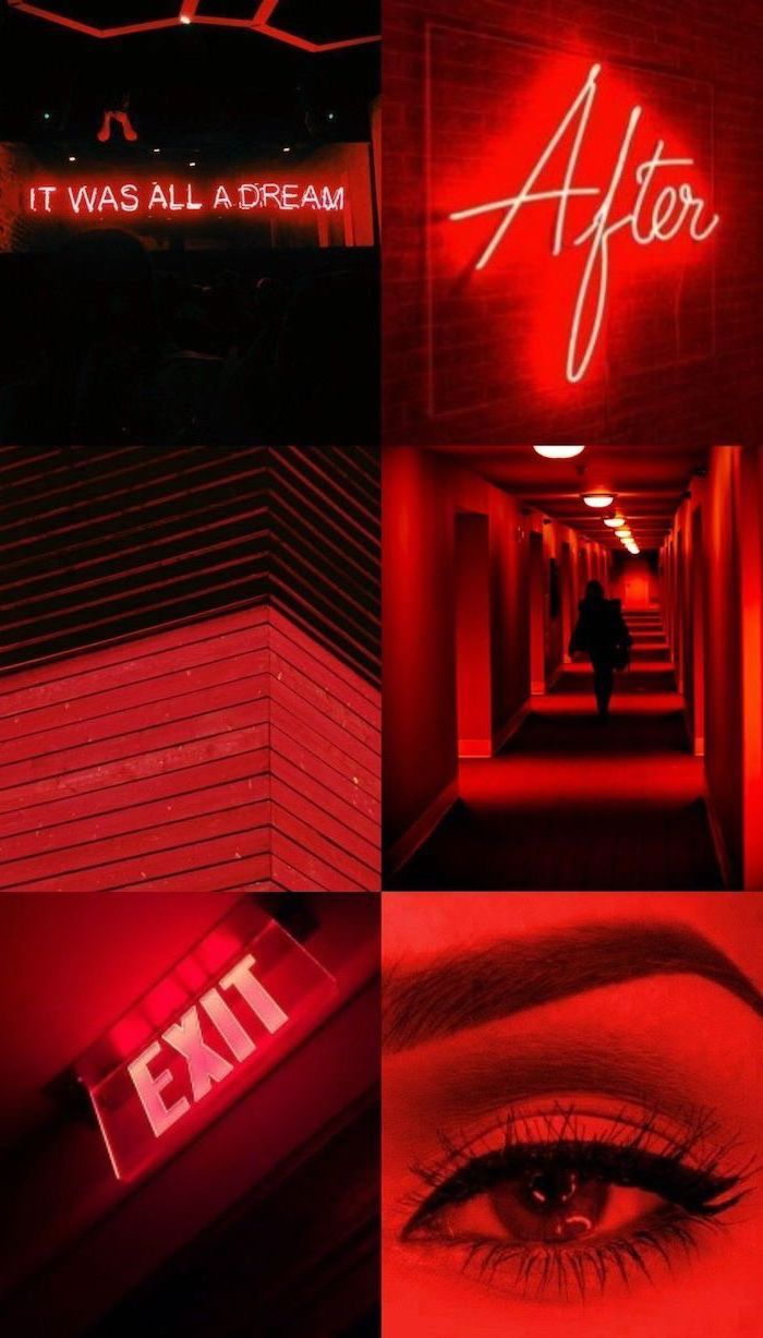 Red Aesthetic Neon Wallpapers Top Free Red Aesthetic Neon Backgrounds Wallpaperaccess