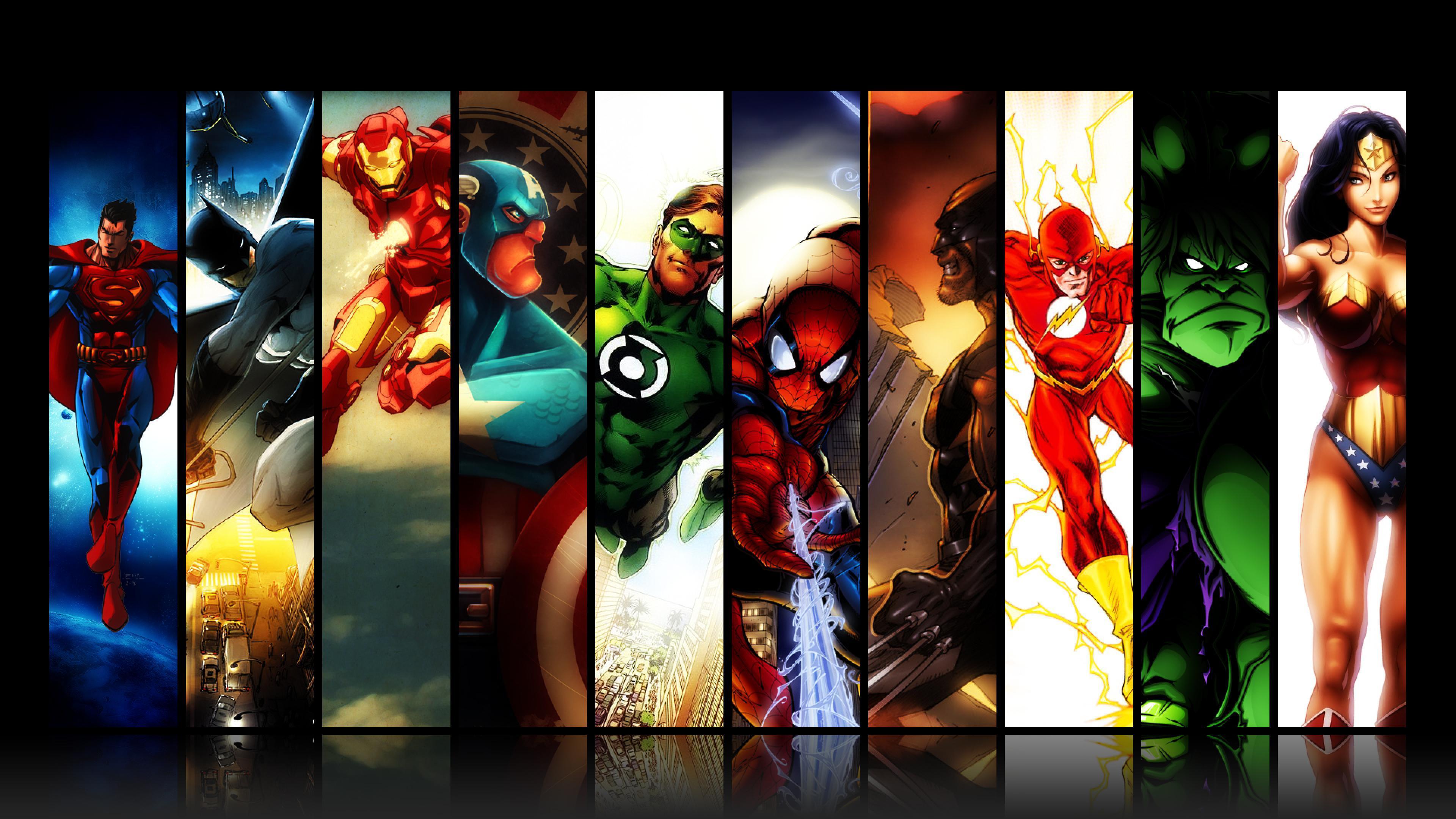 3840x2160 Độ phân giải HD Hình nền Marvel miễn phí