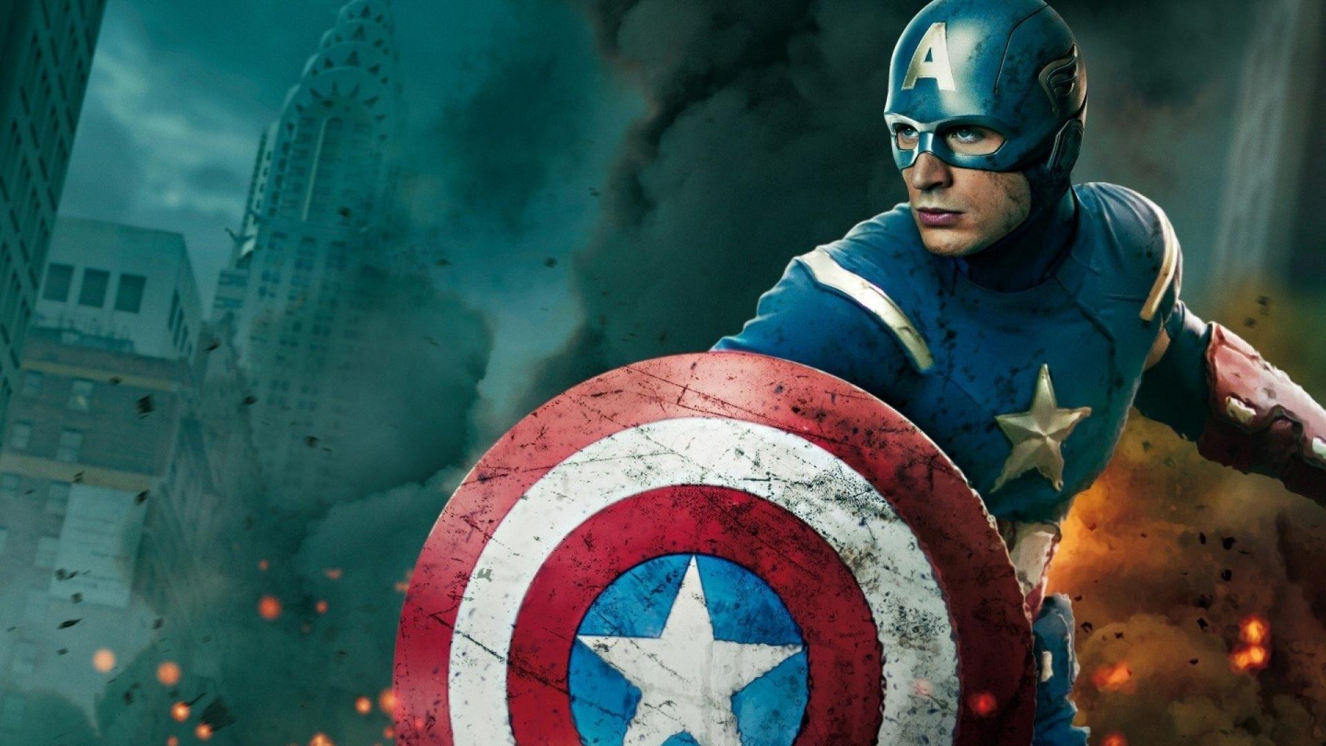 1920x1080 Captain America chris evans the avengers (Movie) hình nền siêu anh hùng