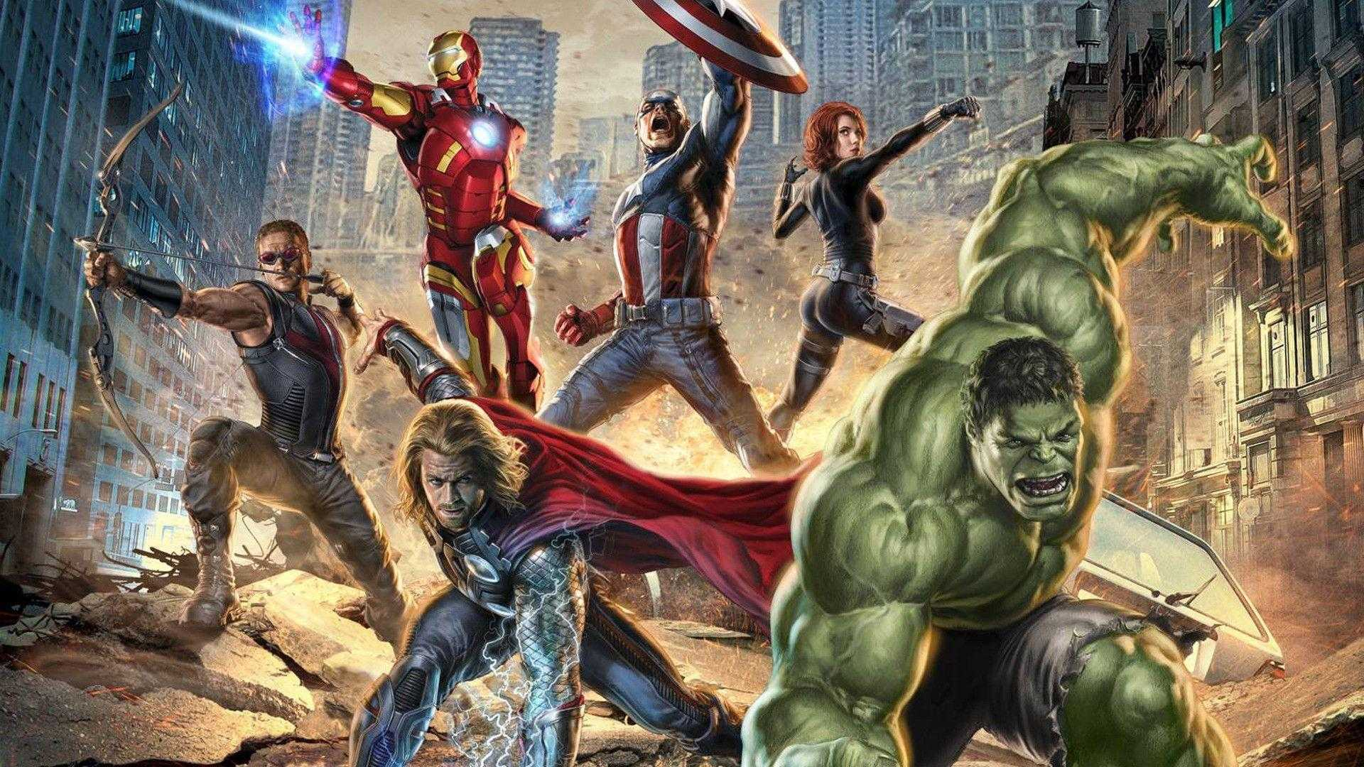 50 Best Free Marvels Avengers Computer Wallpapers Wallpaperaccess