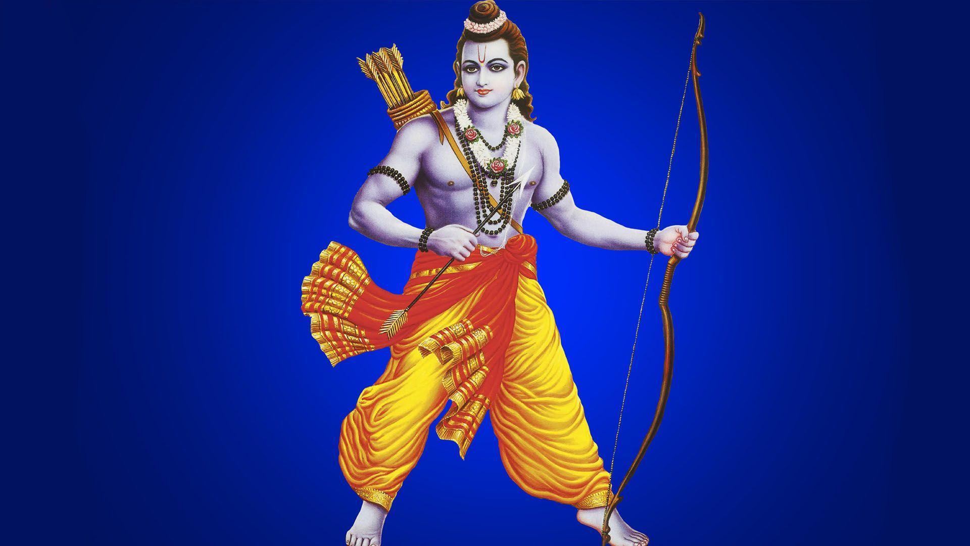 1920x1080 Hình ảnh Jai Shree Ram bằng tiếng Hindi.  Các vị thần và nữ thần của đạo Hindu
