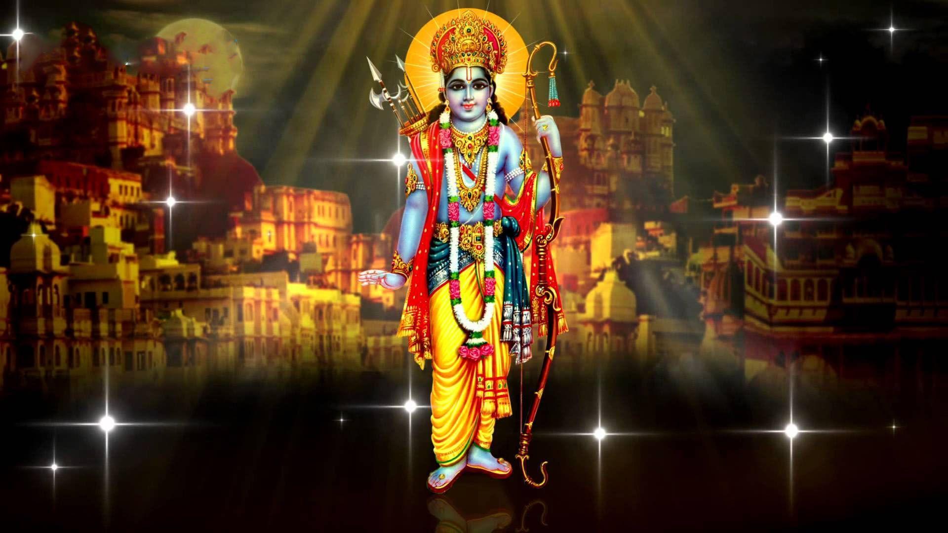 1920x1080 Shri Ram HD Wallpaper Tải xuống miễn phí - Jai Shri Ram Wallpaper Full