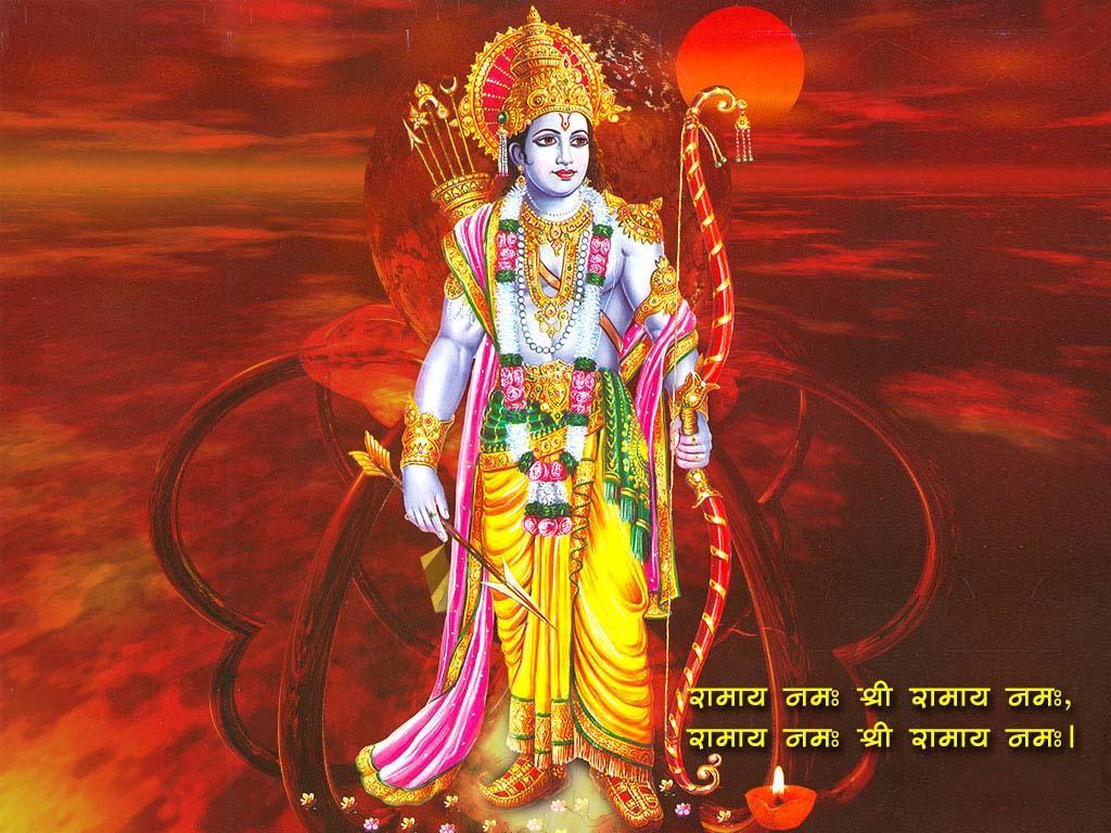 Tải xuống miễn phí hình nền 1024x768 Jai Shri Ram
