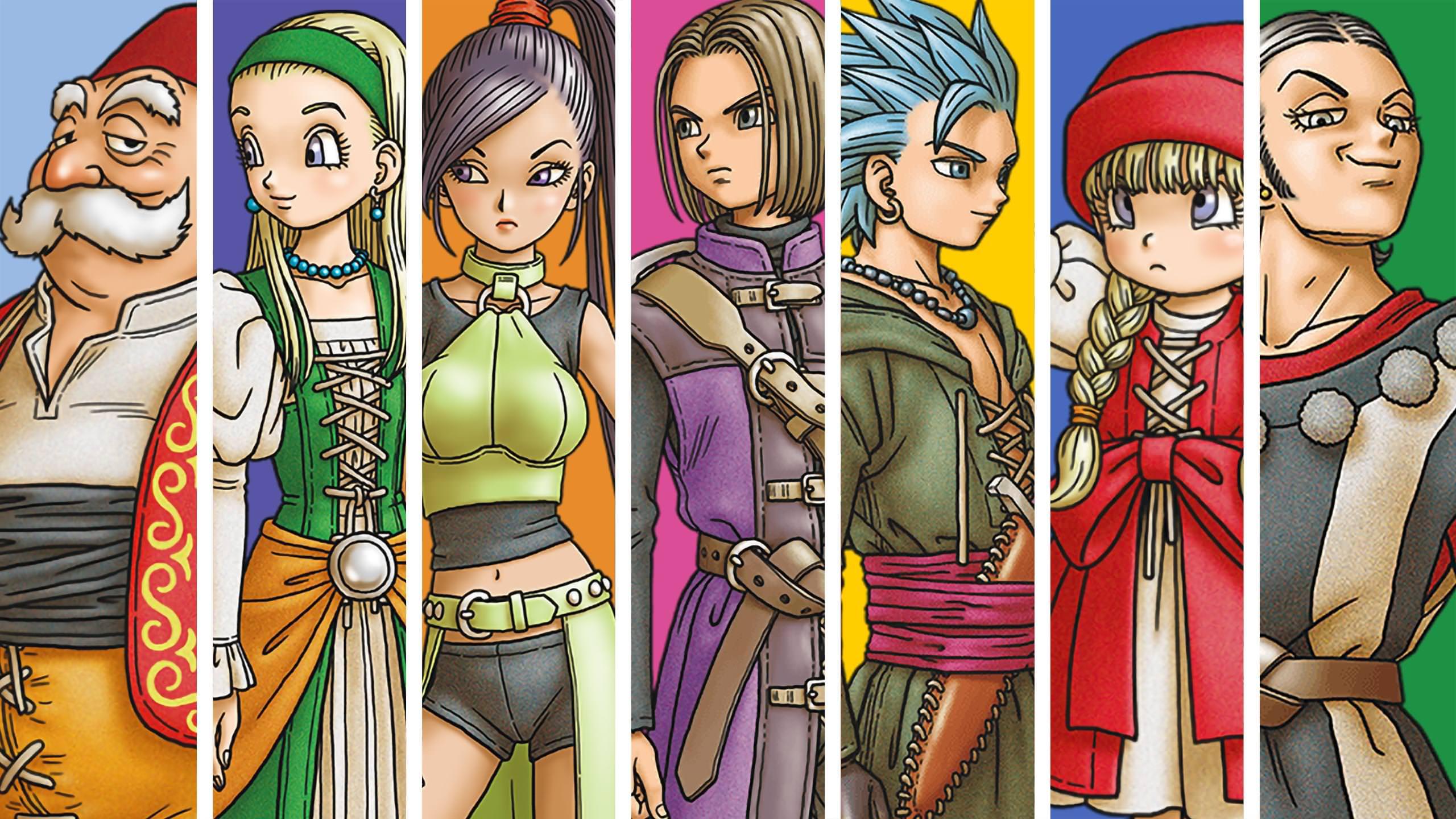 Dragon Quest XI Wallpapers - Top Free Dragon Quest XI ...