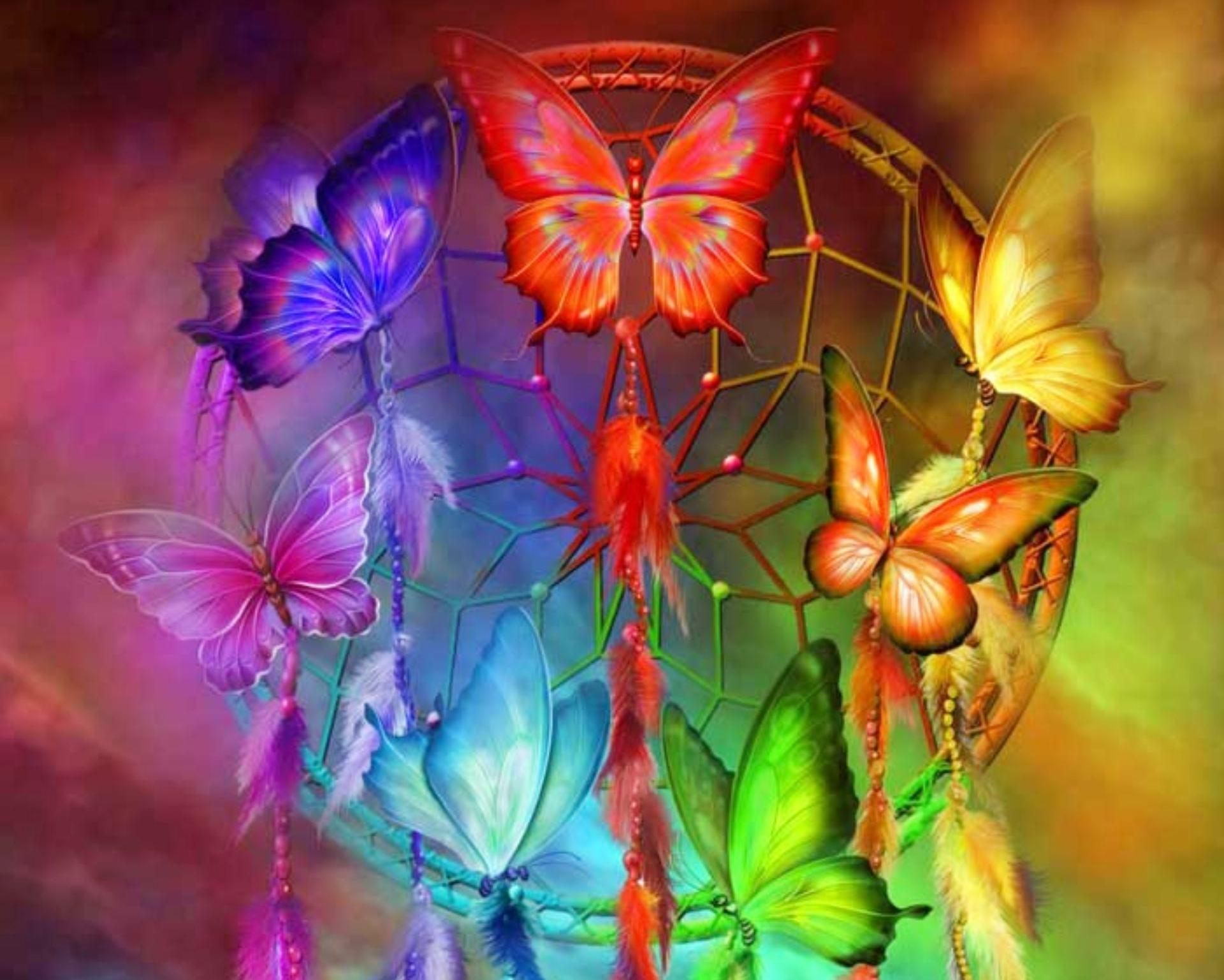 Rainbow Butterfly Wallpapers - Top Free Rainbow Butterfly ...