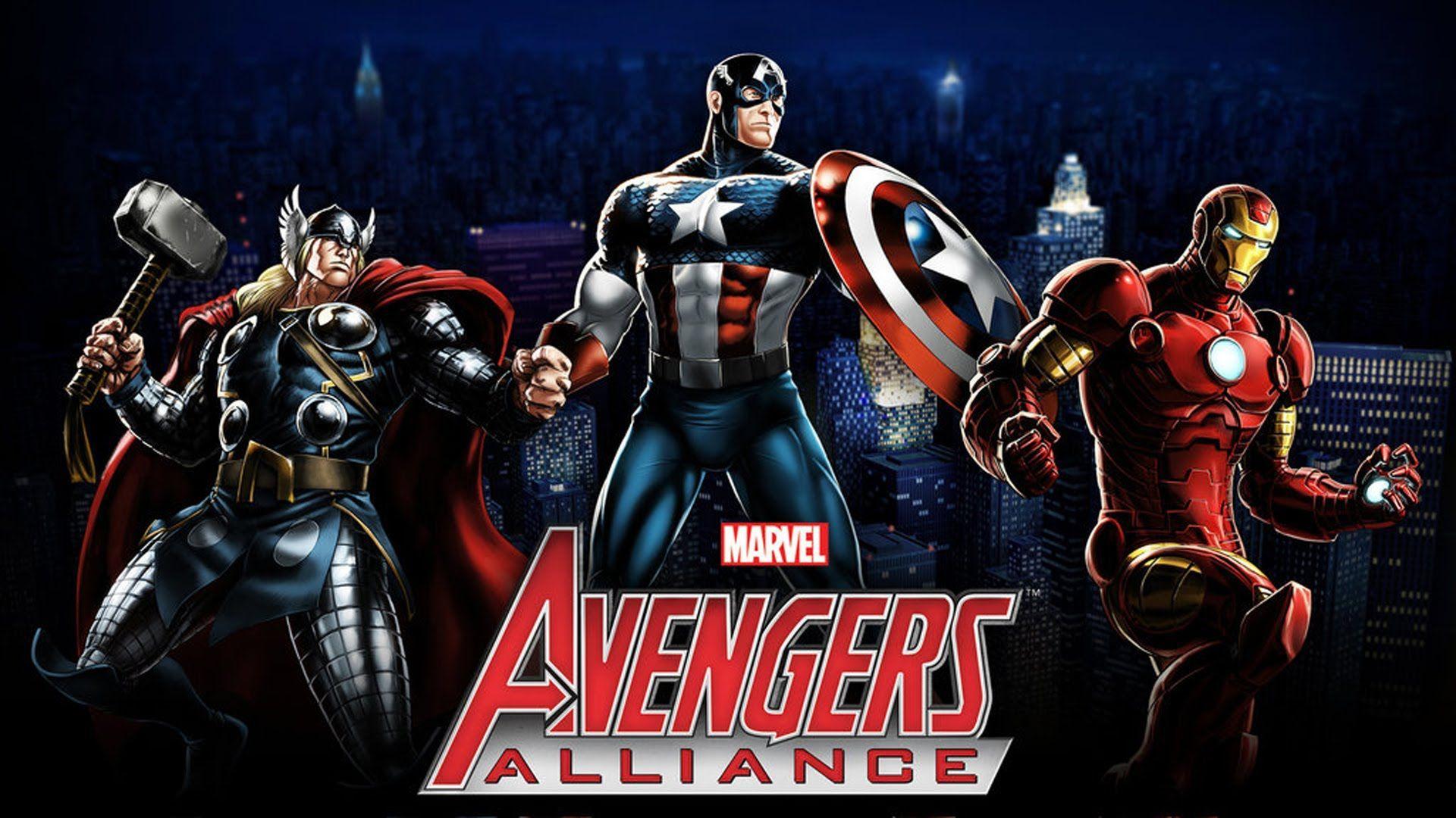 Marvel Avengers Alliance Wallpapers - Top Free Marvel Avengers
