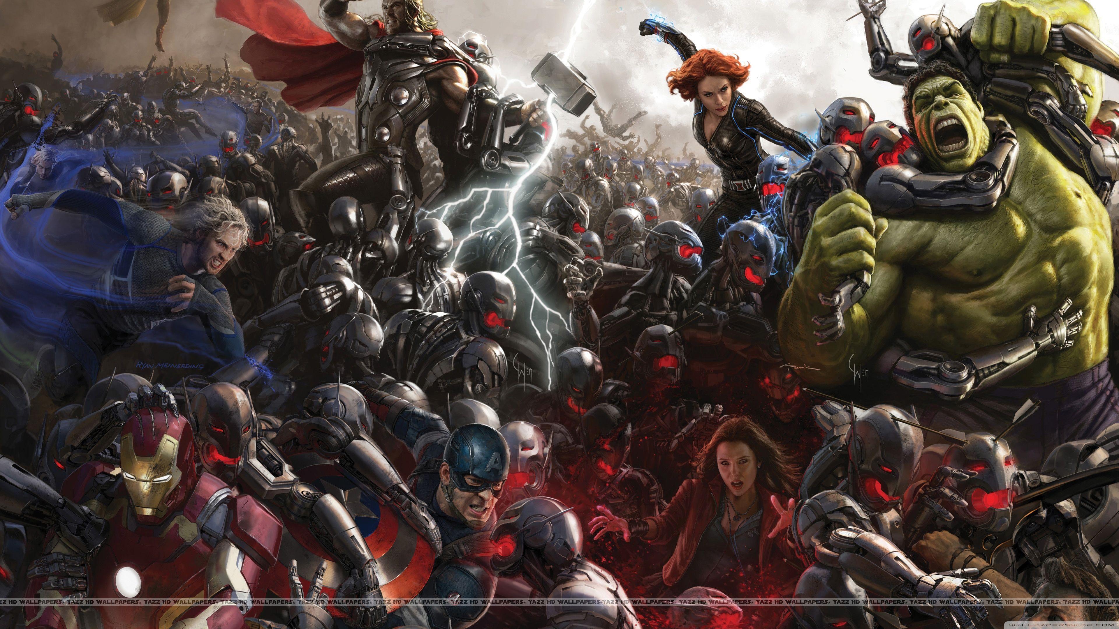 Best 49 The Avengers Wallpaper On Hipwallpaper