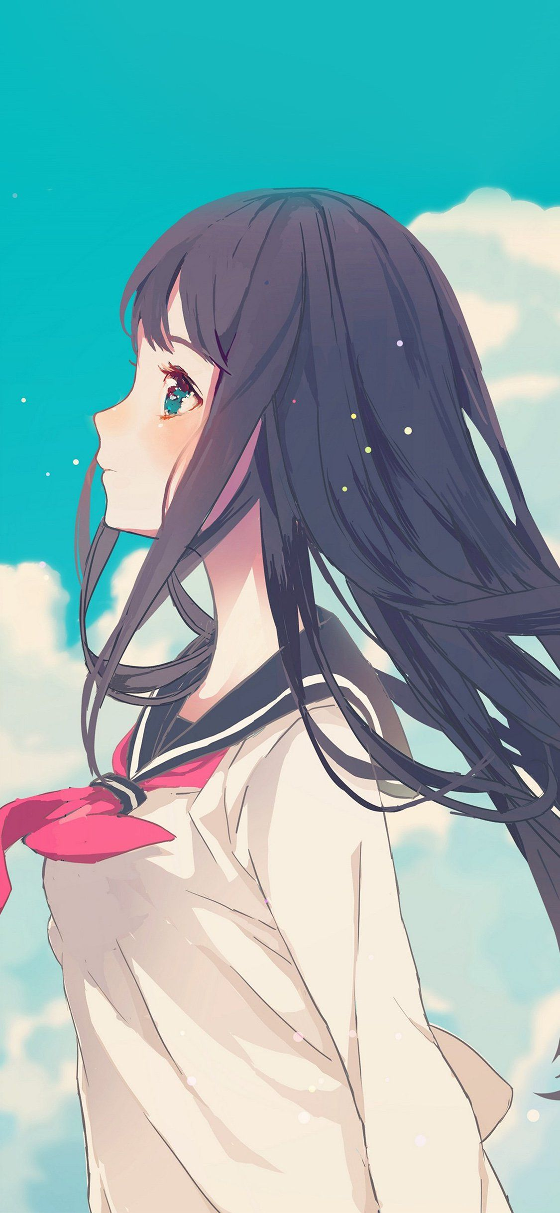 Beautiful Anime Girl Iphone Wallpapers Top Free Beautiful