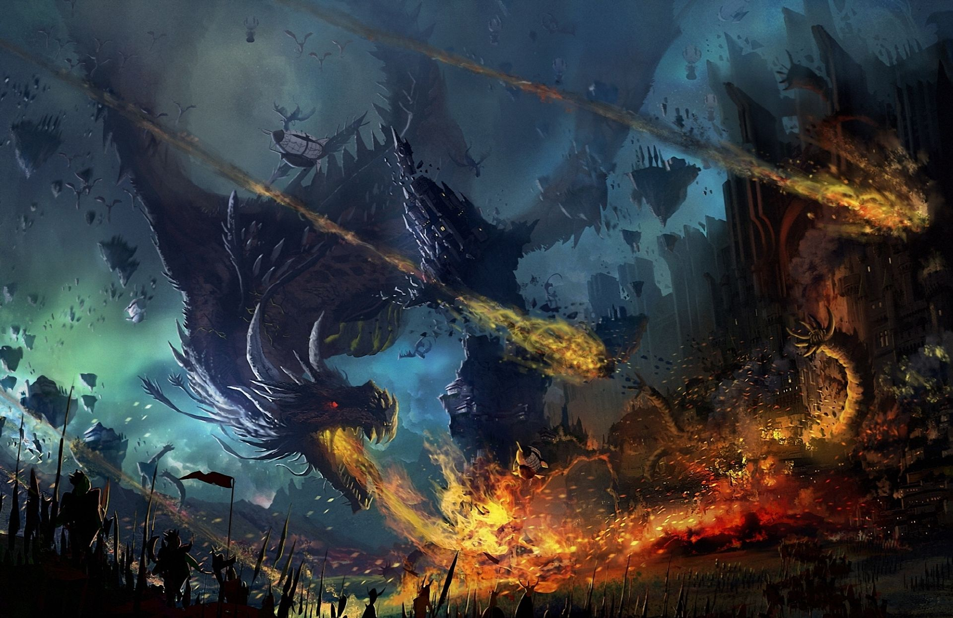Dragon Battle Wallpapers Top Free Dragon Battle