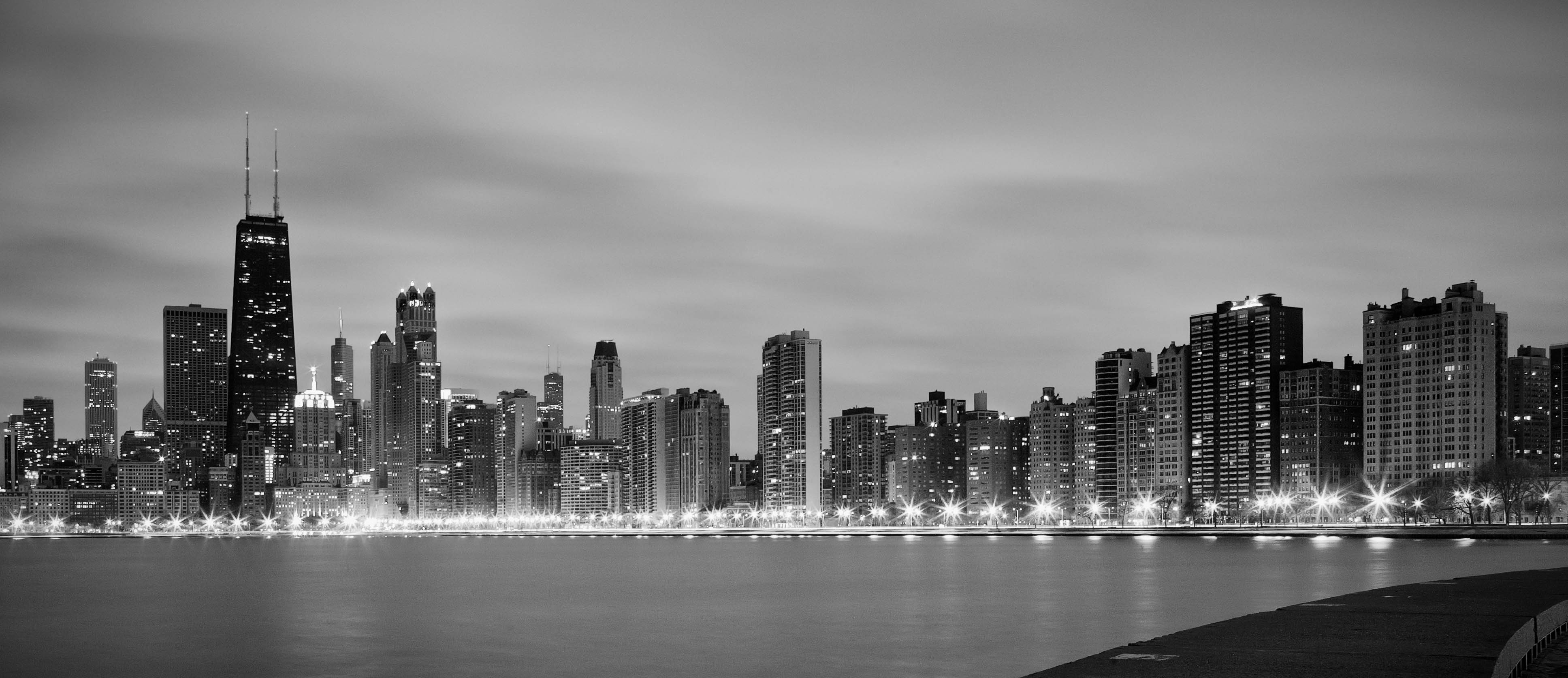 Chicago Skyline Wallpapers Top Free Chicago Skyline Backgrounds