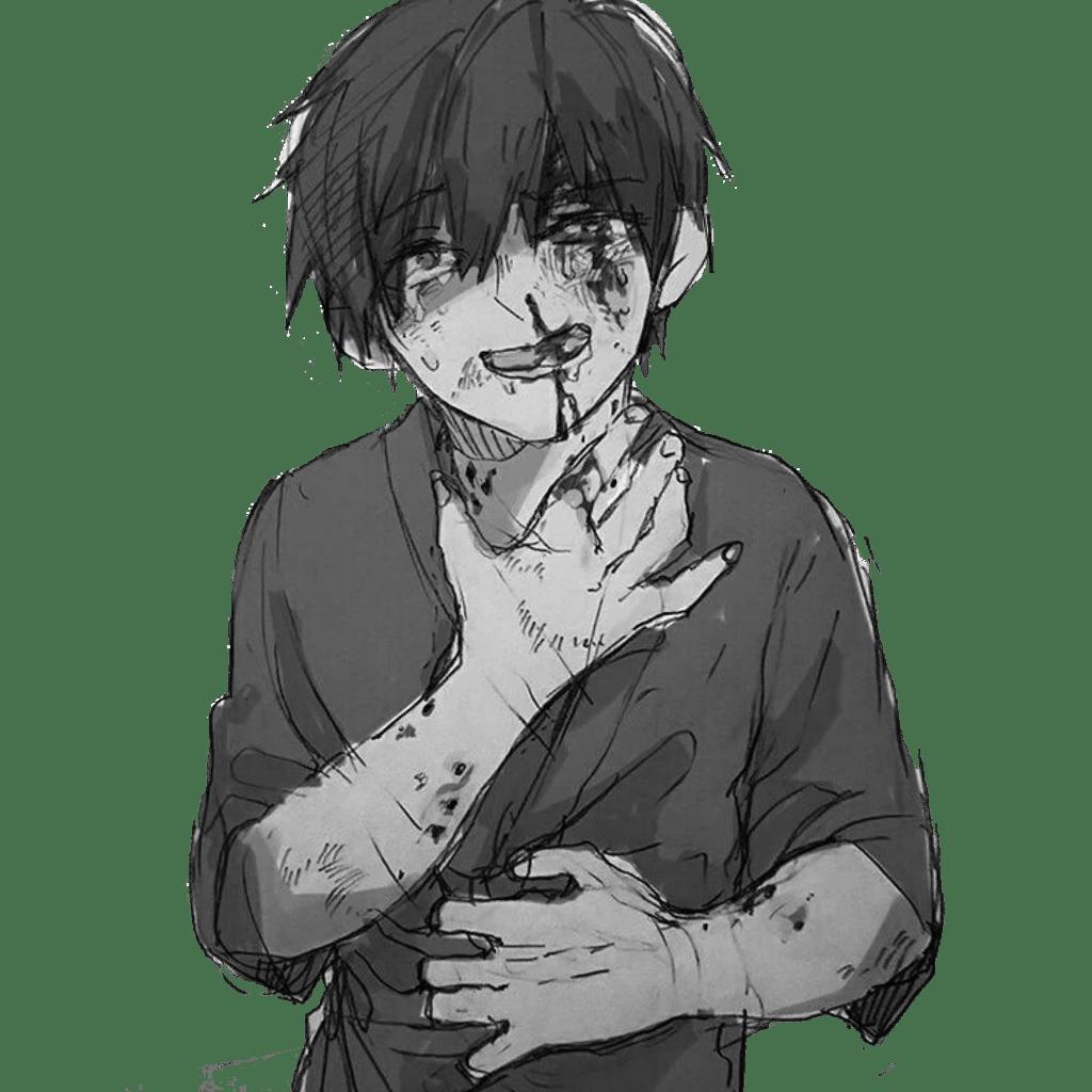 Anime Sad Boy Wallpapers Top Free Anime Sad Boy Backgrounds Wallpaperaccess