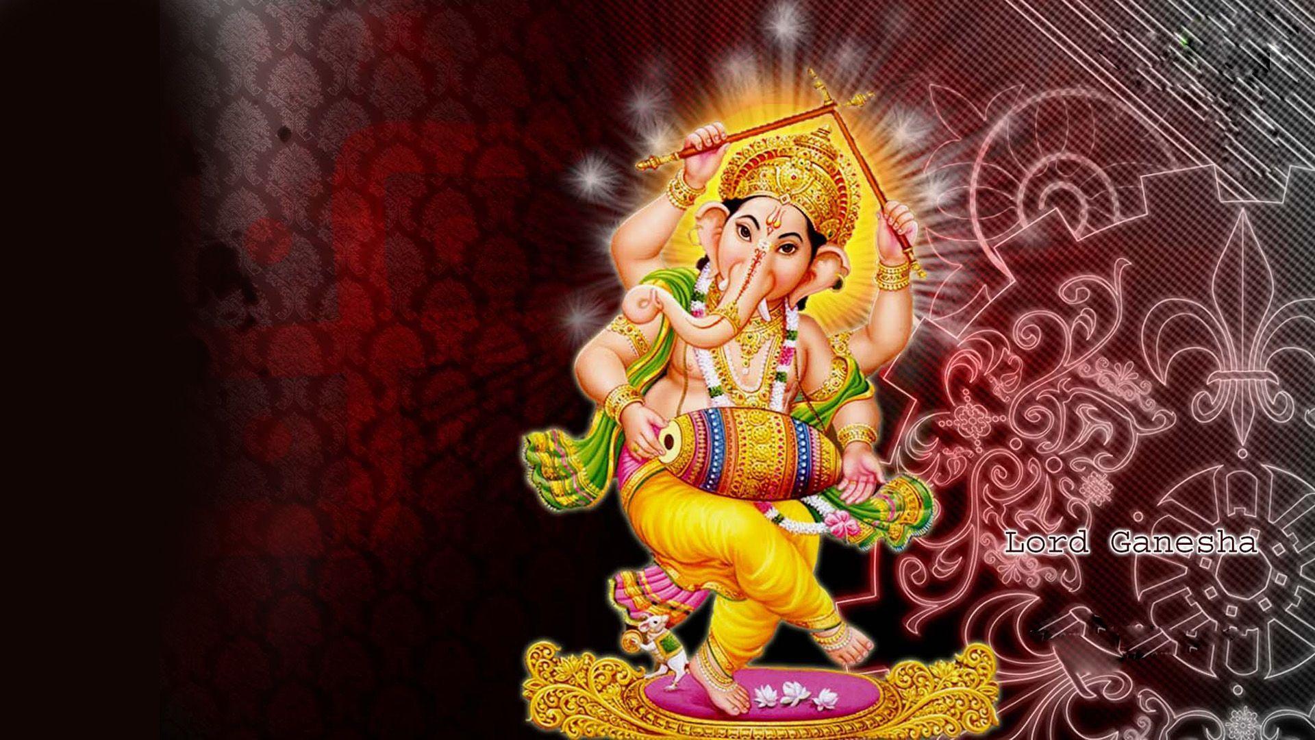 1920x1080 Chúa Ganesh Hình nền HD.  Ganesh hình nền, Ganesh chaturthi