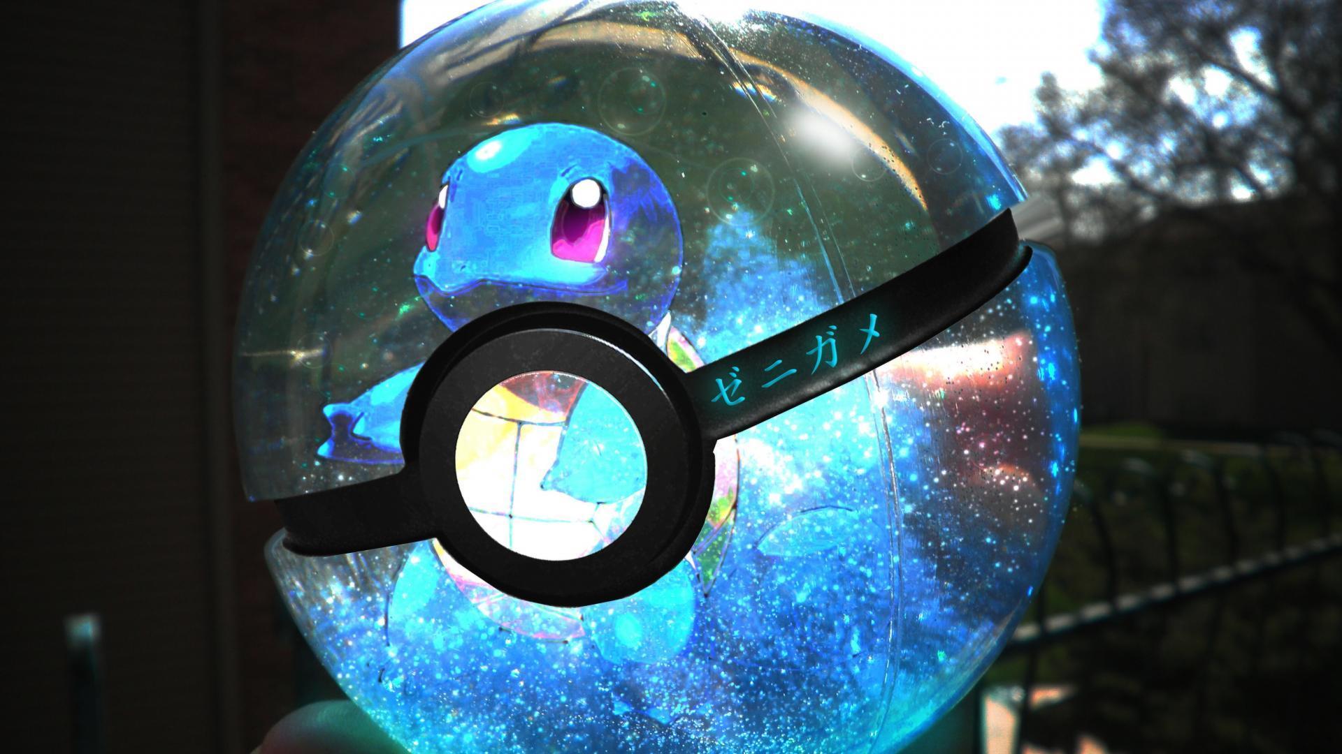 1920x1080 Poke Balls Pokeball Pokemon Minimalistic Wallpaper