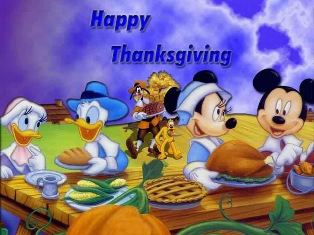44 Best Free Cartoon Thanksgiving Wallpapers