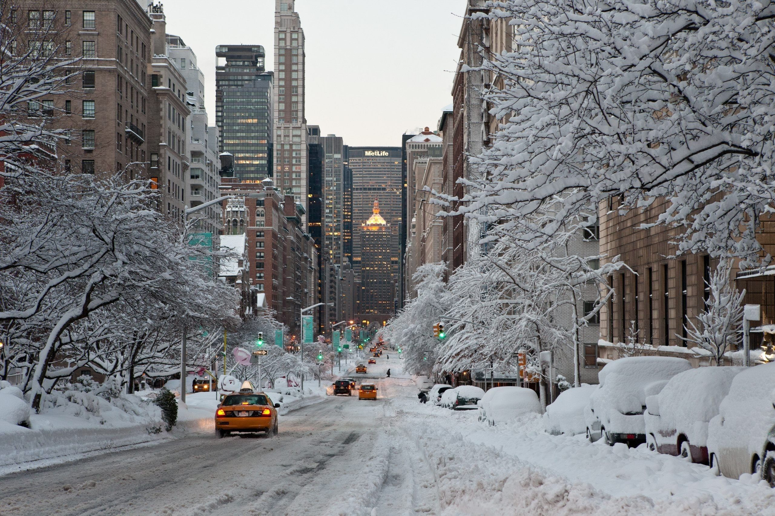 New York Winter Wallpapers Top Free New York Winter
