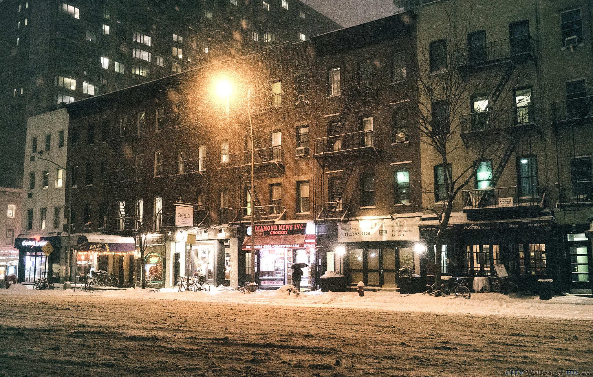 New York Winter Wallpapers Top Free New York Winter