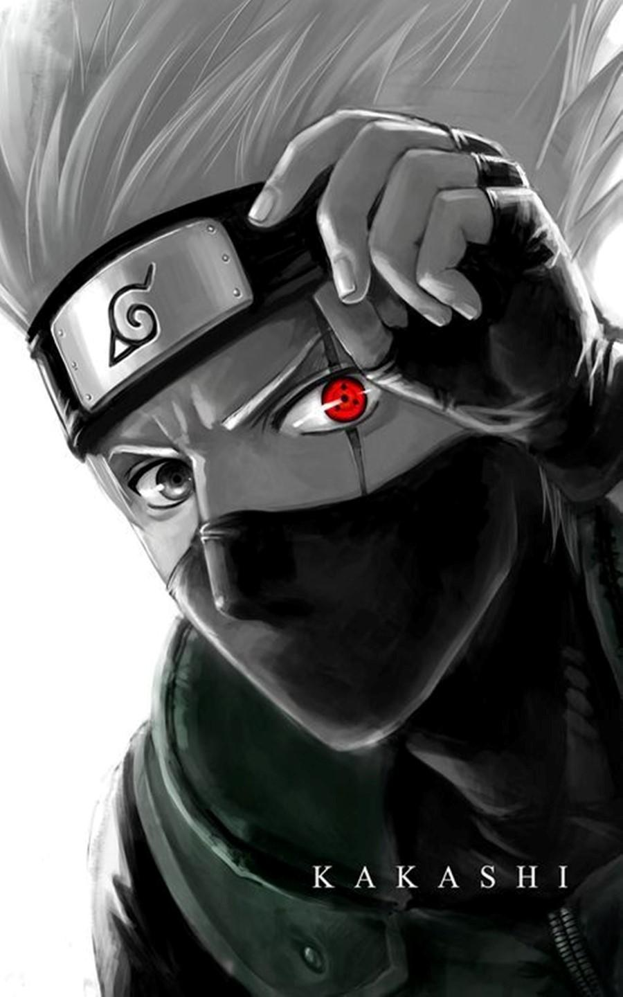 Kakashi Face Wallpapers Top Free Kakashi Face Backgrounds Wallpaperaccess