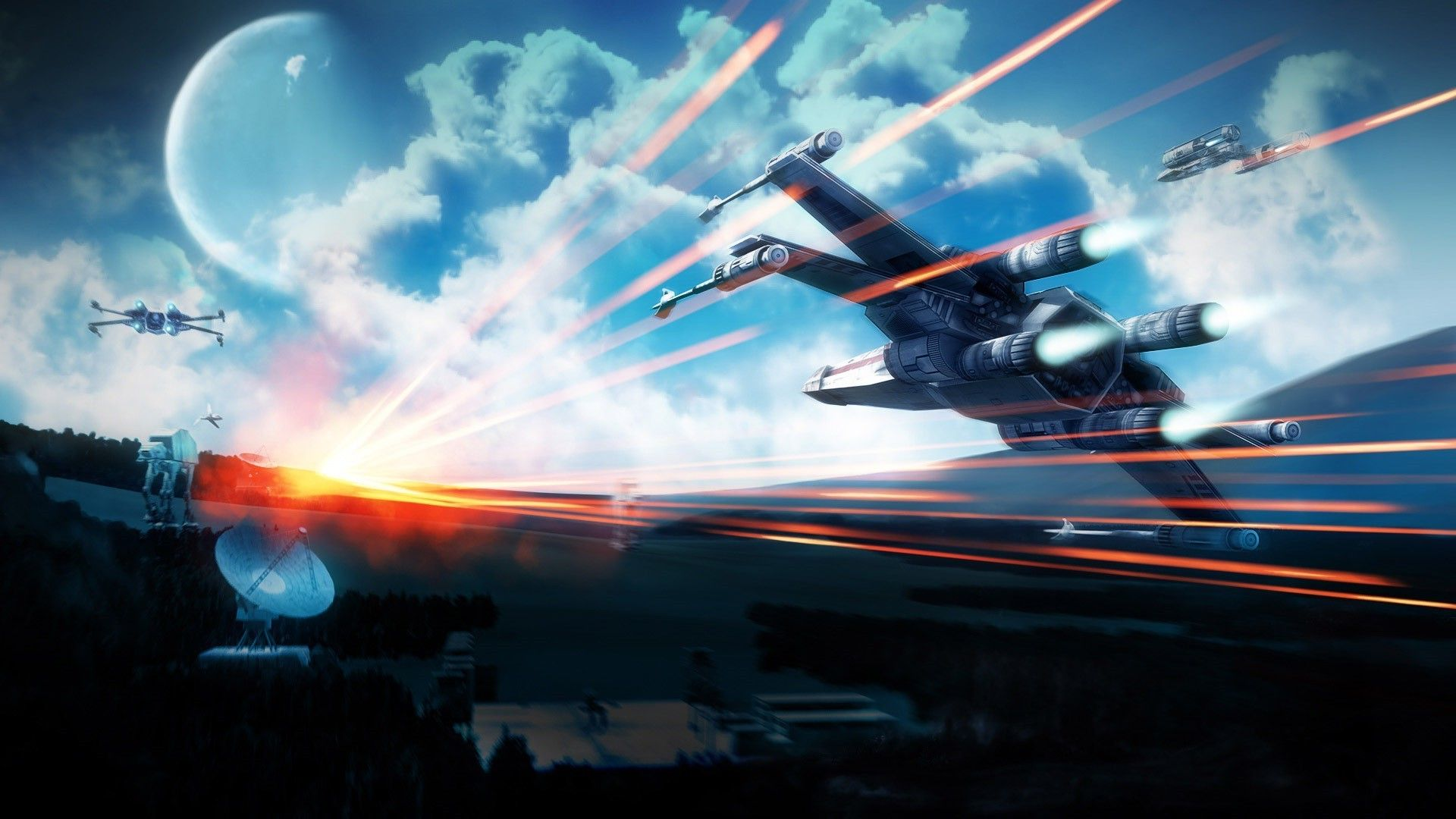 Star Wars X Wing Wallpapers Top Free Star Wars X Wing Backgrounds Wallpaperaccess