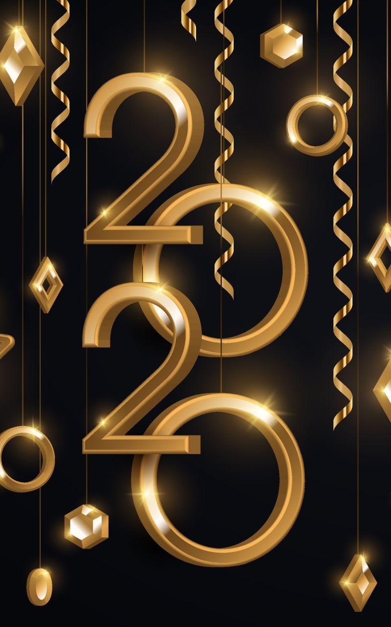 Hình nền 800x1280 Holiday New Year 2020 (800x1280)