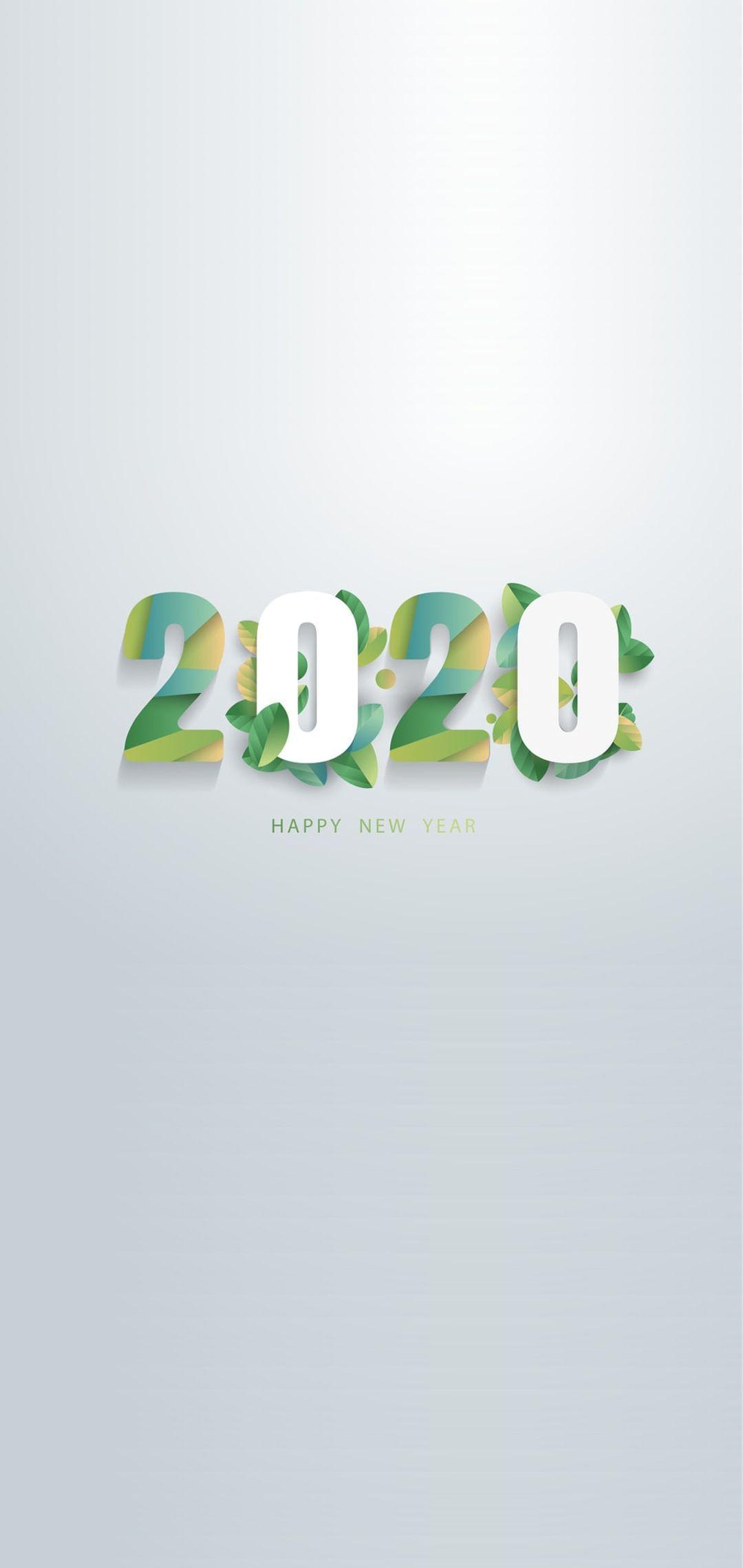 1080x2280 Happy New Year 2020 Hình nền điện thoại 14 - [1080x2280]
