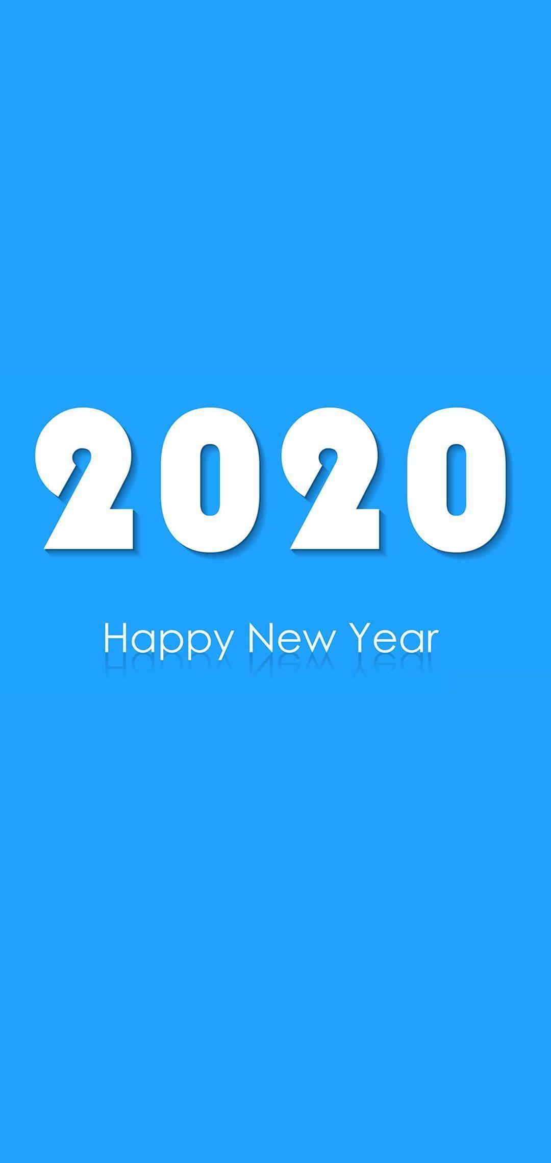1080x2280 Happy New Year 2020 Hình nền điện thoại 09 - [1080x2280]