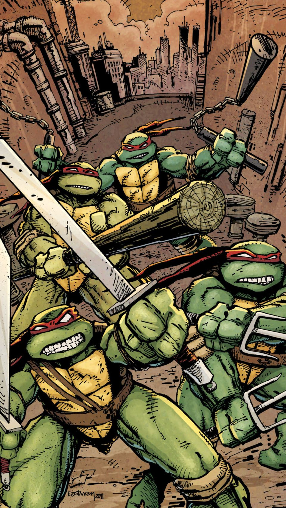 Ninja Turtles Iphone Wallpapers Top Free Ninja Turtles