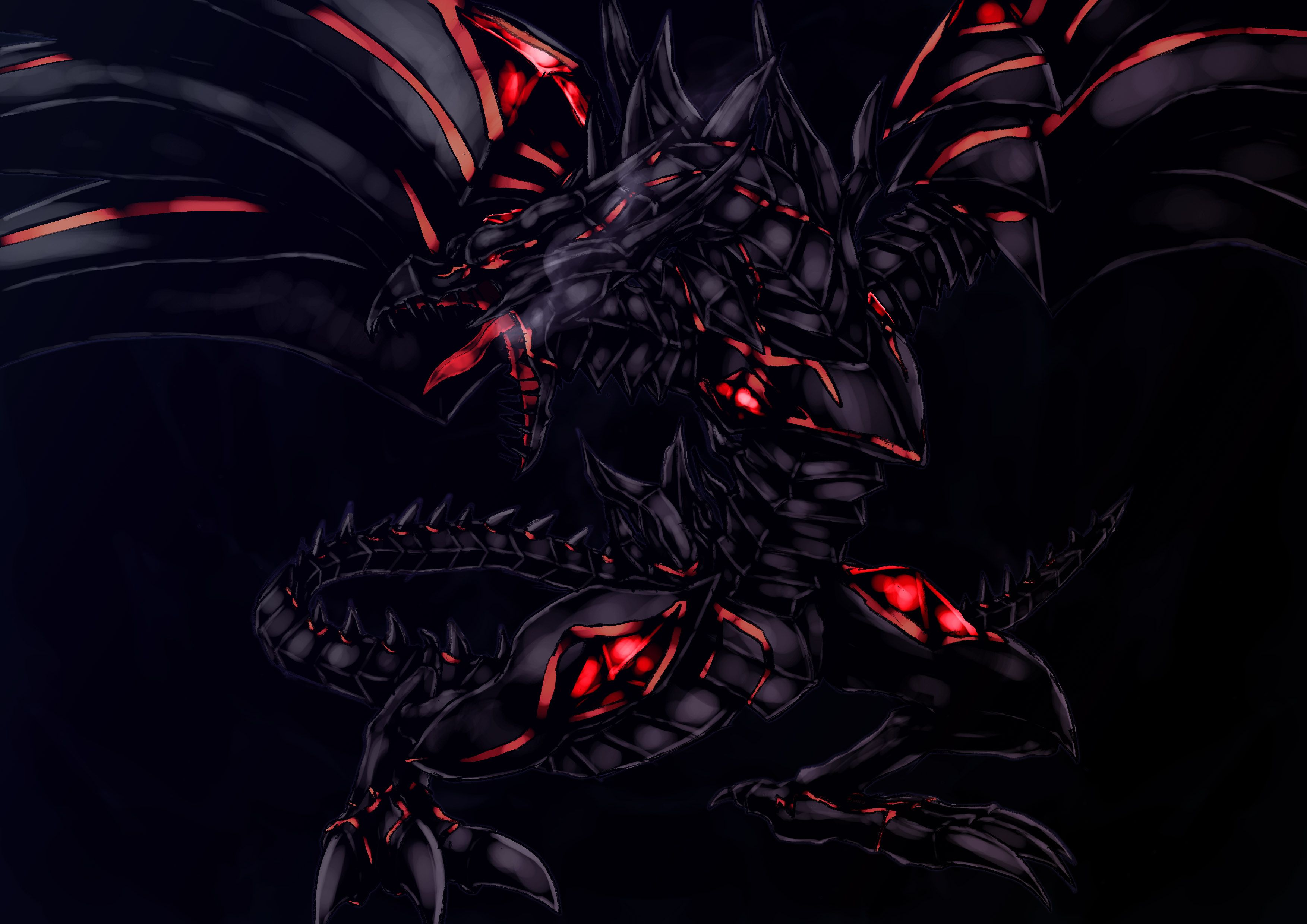 Red Eyes Black Dragon Wallpapers Top Free Red Eyes Black Dragon Backgrounds Wallpaperaccess