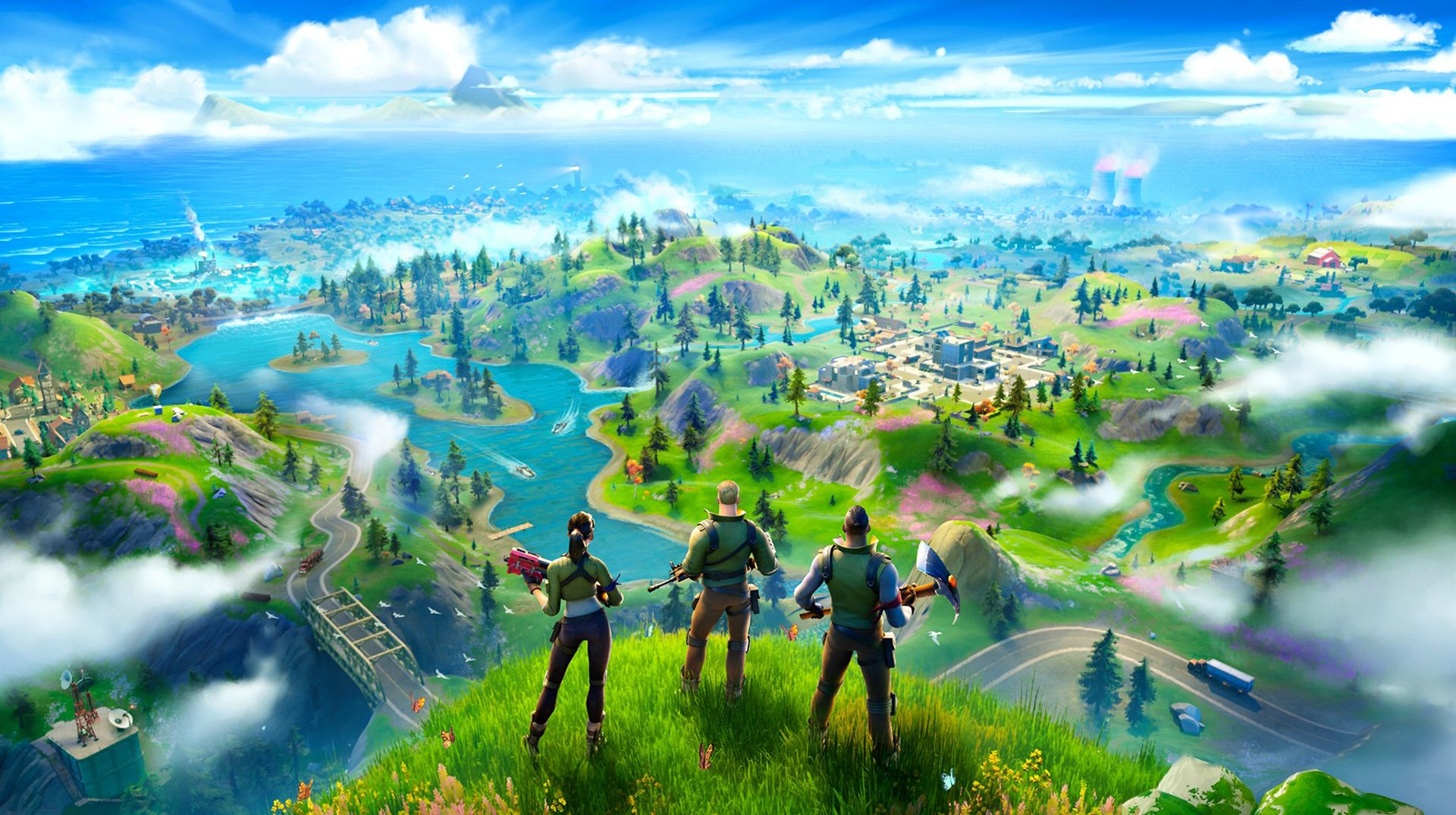 Fortnite Battle Royale Chapter 2 Wallpapers Top Free Fortnite Battle Royale Chapter 2 Backgrounds Wallpaperaccess