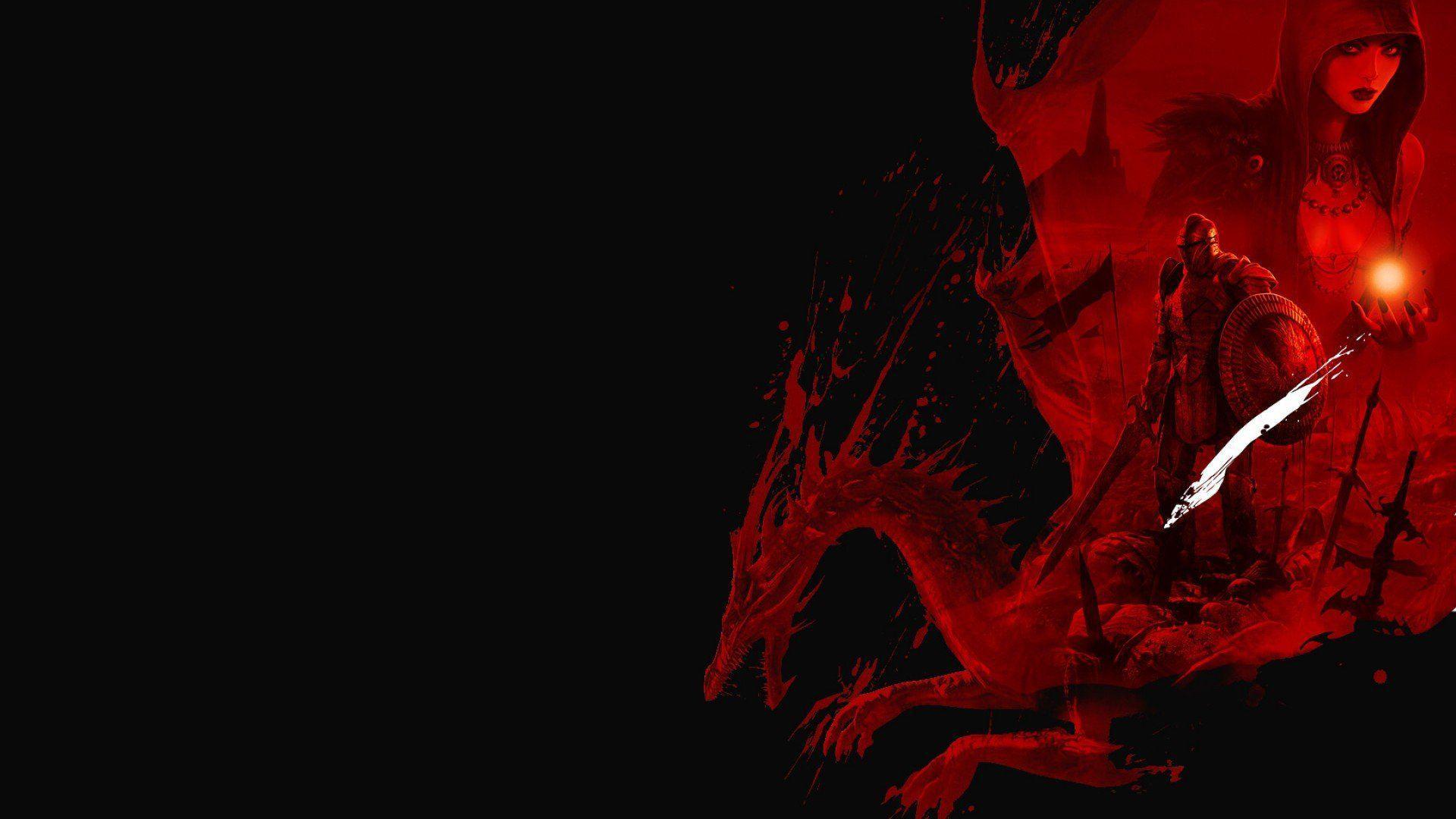 1920x1200 Dark Dragon Wallpaper 1