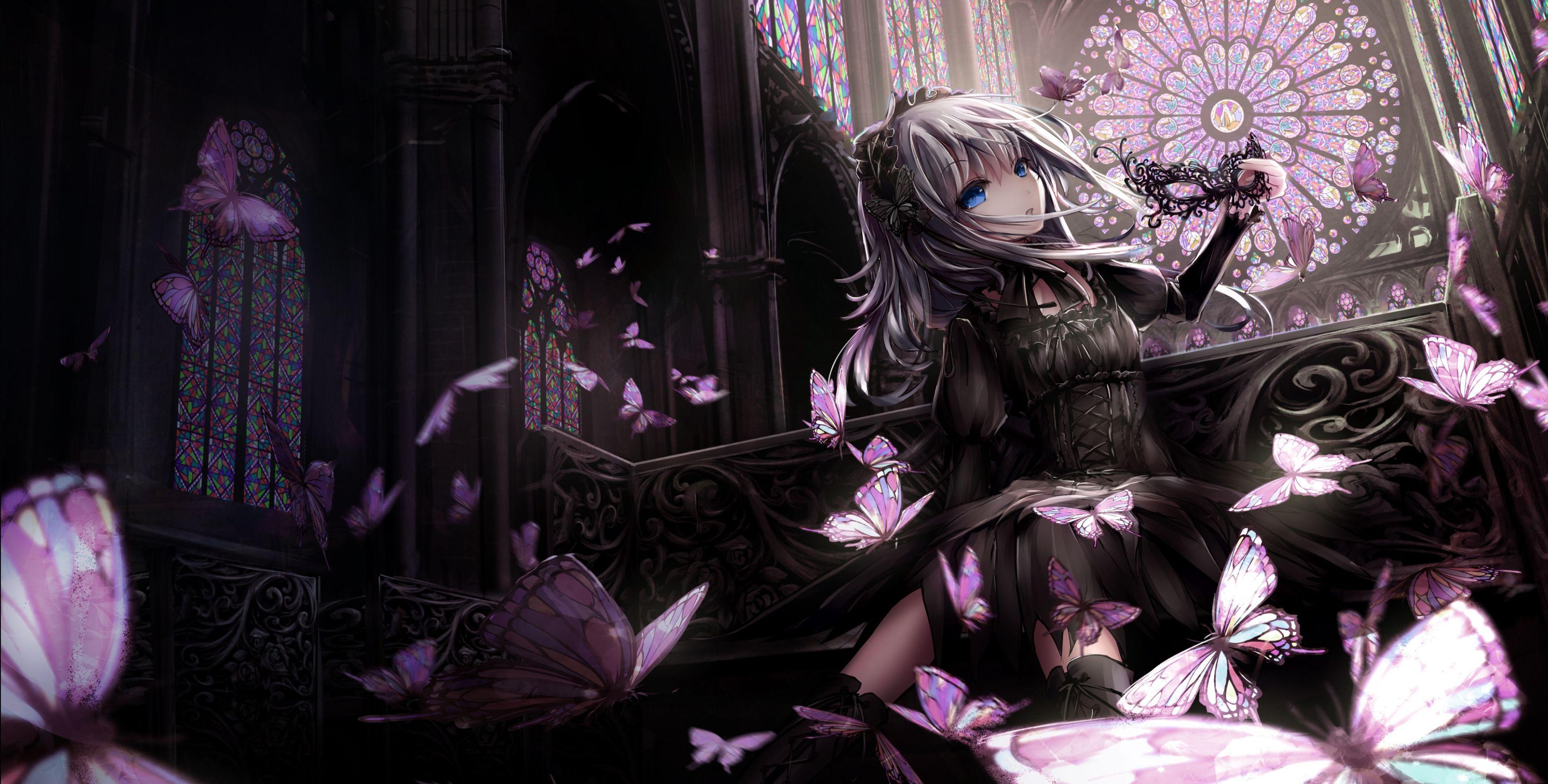 Gothic anime wallpapers top free gothic anime - Dark anime girl pics ...