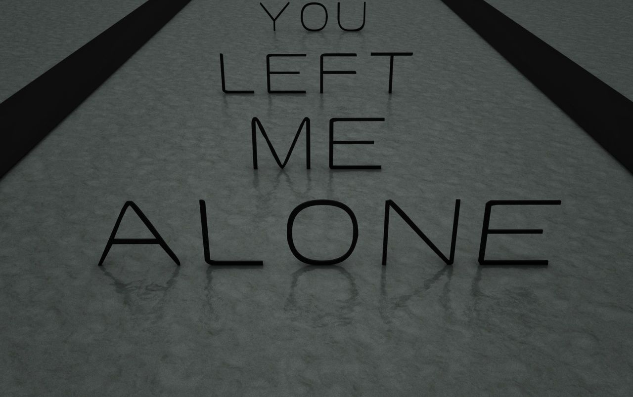Alone Wallpapers Top Free Alone Backgrounds Wallpaperaccess