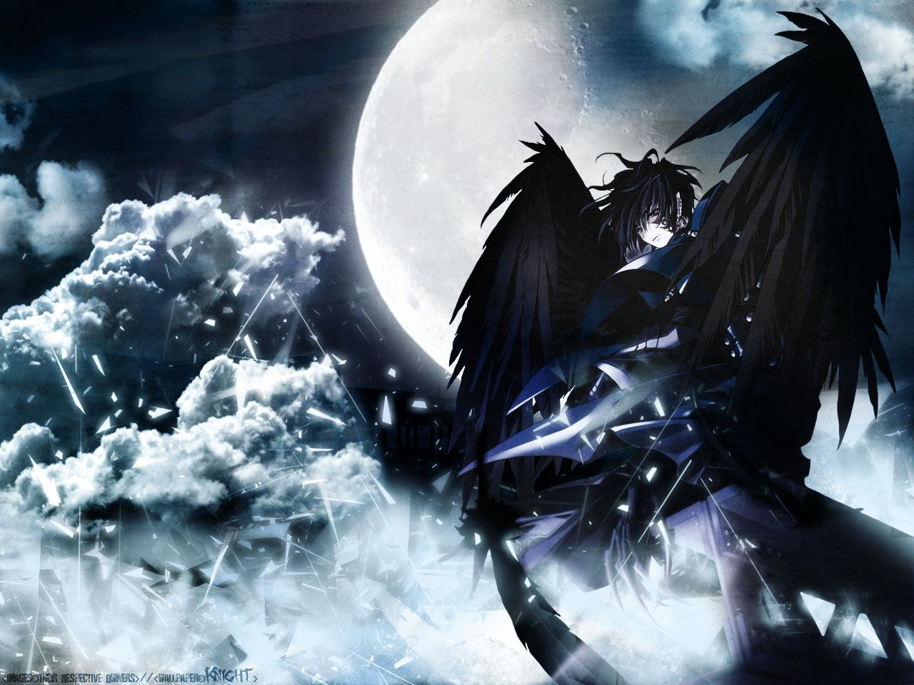 Anime Male Fallen Angel Wallpapers Top Free Anime Male