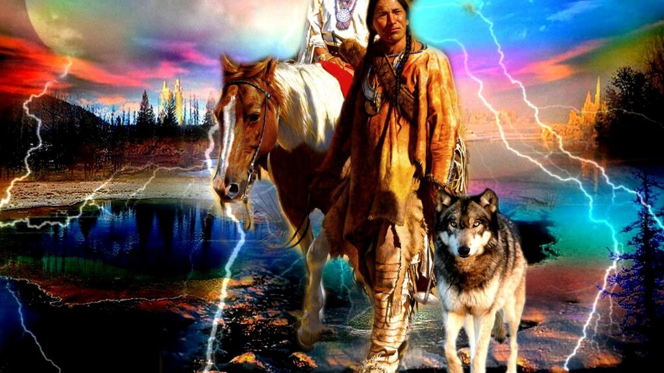 Horses And Wolves Wallpapers Top Free Horses And Wolves Backgrounds Wallpaperaccess